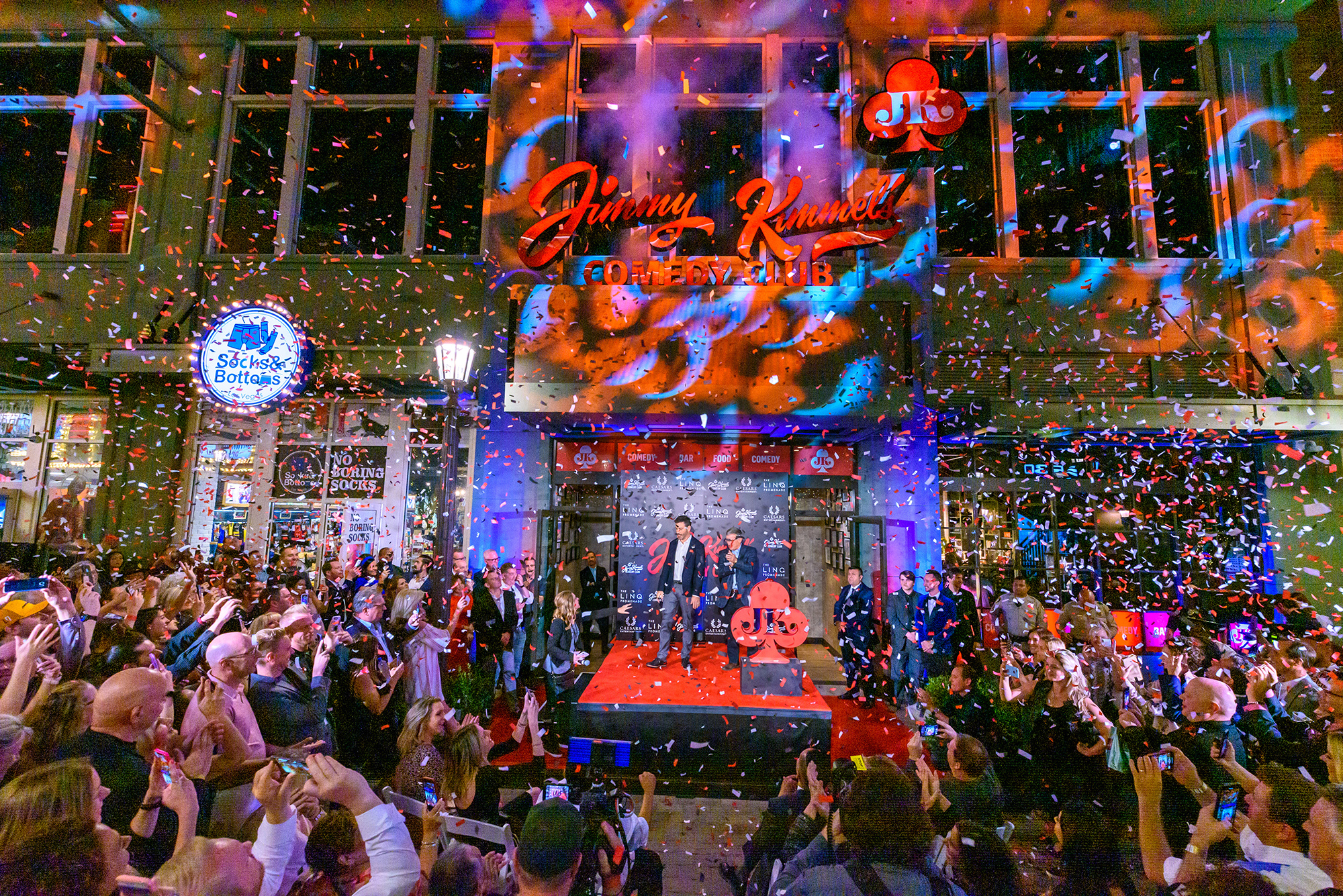 Jimmy Kimmel's Comedy Club Grand Opening - Marquee Celebration (Photo Credit: Kabik Photo Group)