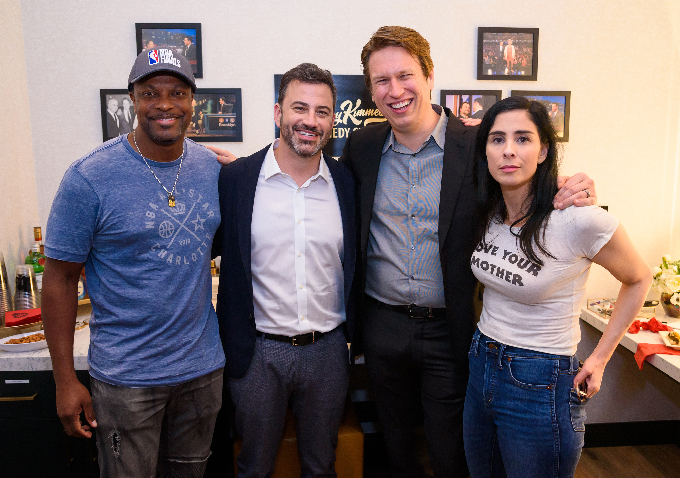Jimmy Kimmel's Comedy Club Grand Opening - Chris Tucker, Jimmy Kimmel, Pete Holmes, Sarah Silverman (Photo Credit: Kabik Photo Group)