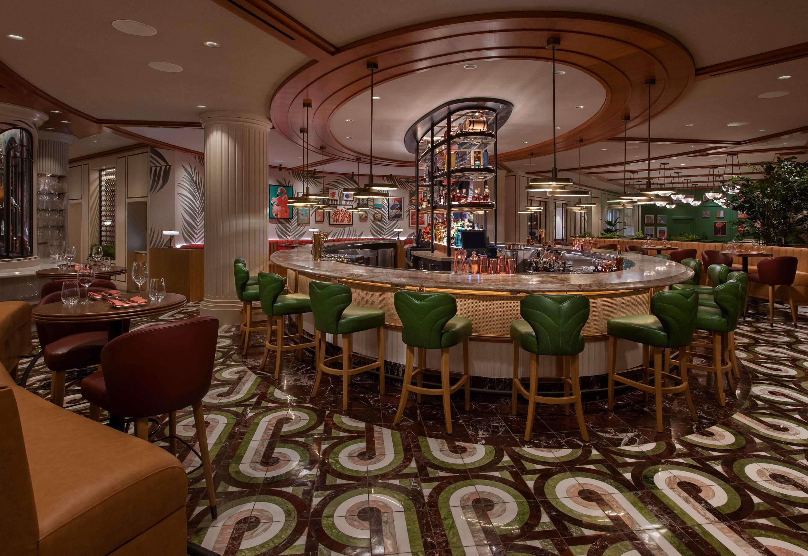 Main Bar at Bugsy & Meyer's Steakhouse at Flamingo Las Vegas