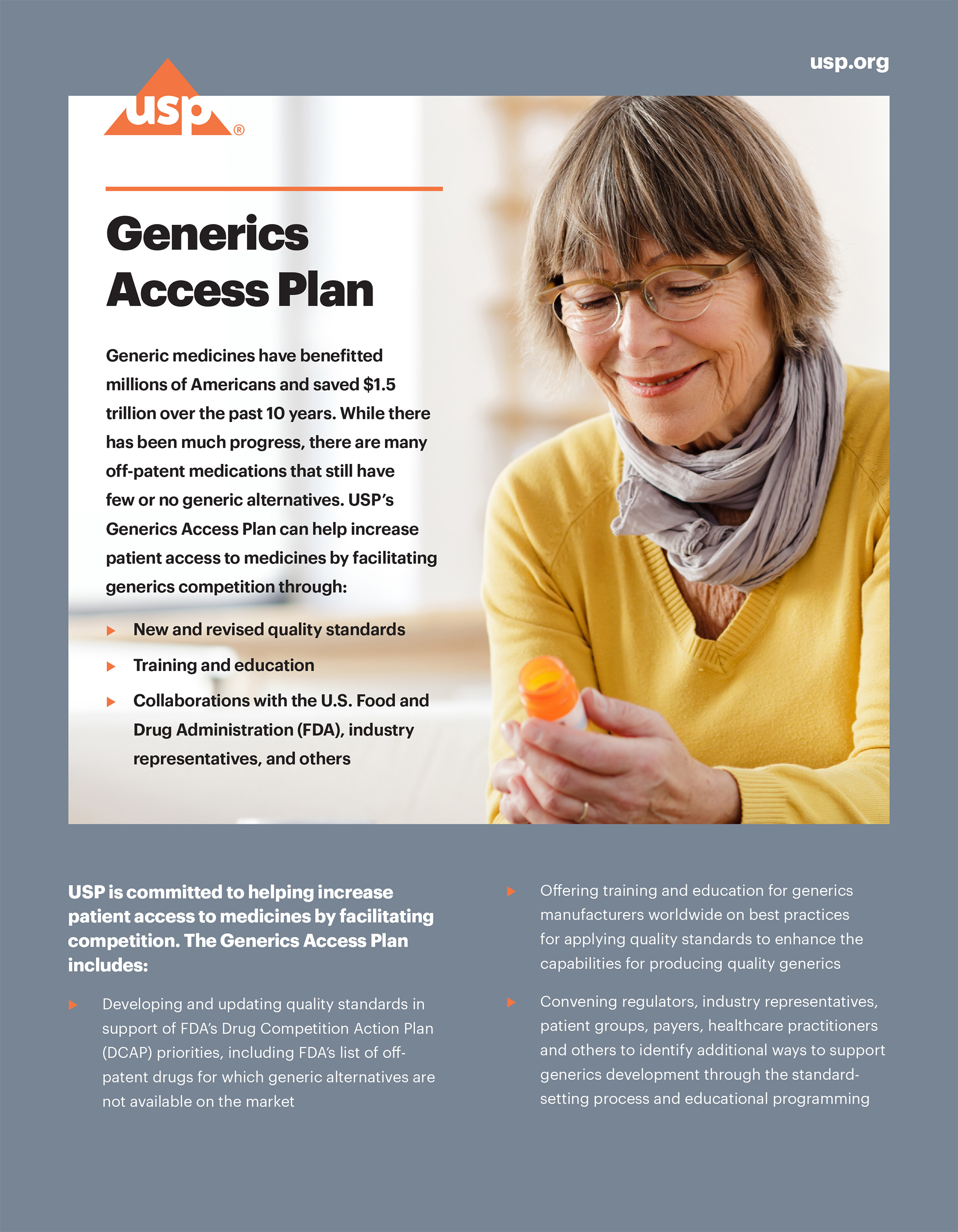 Generics Access Plan