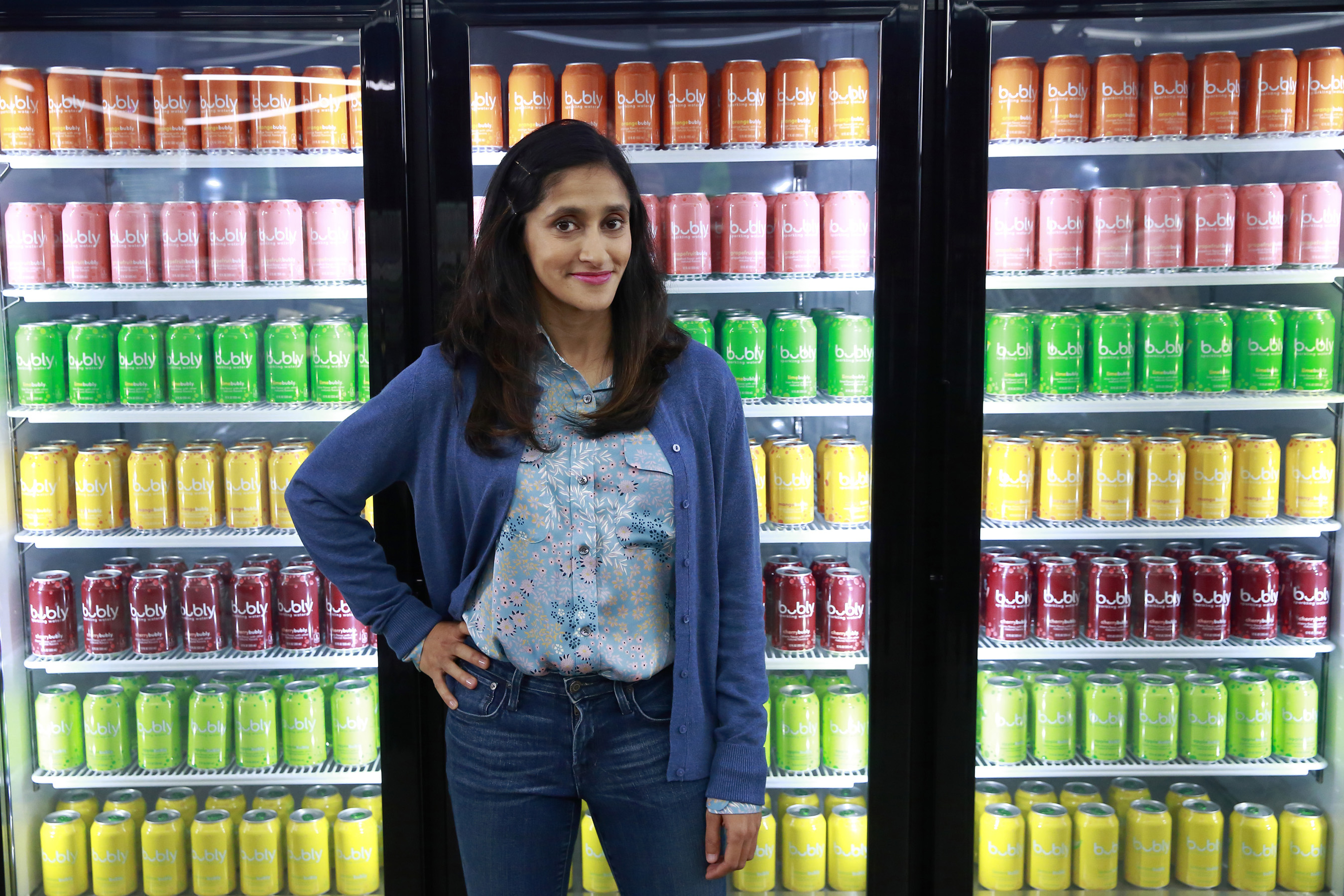 Aparna Nancherla makes Super Bowl advertisement debut with bubly