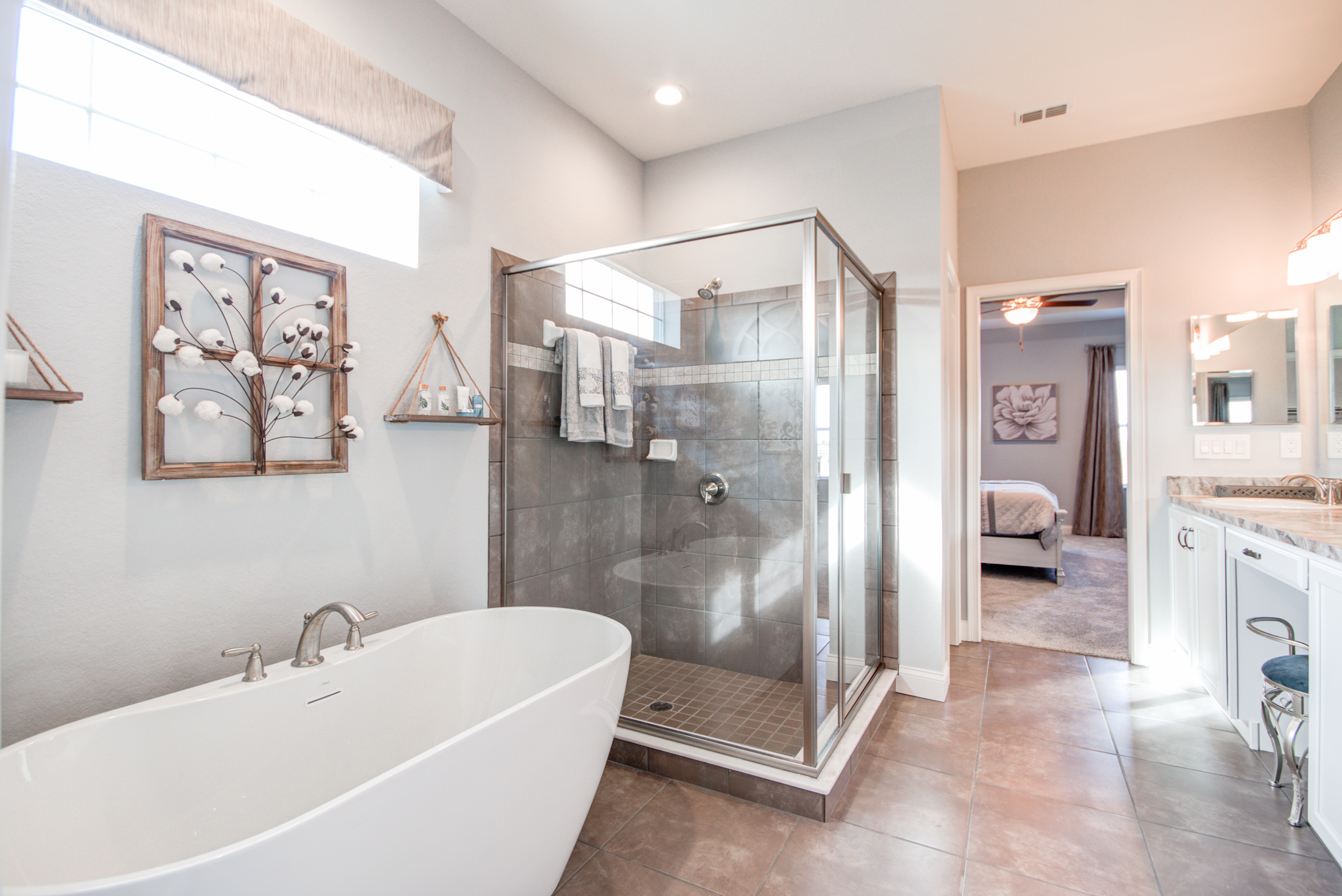 Highland Homes offers a wide variety of unique options for their kitchens and bathrooms