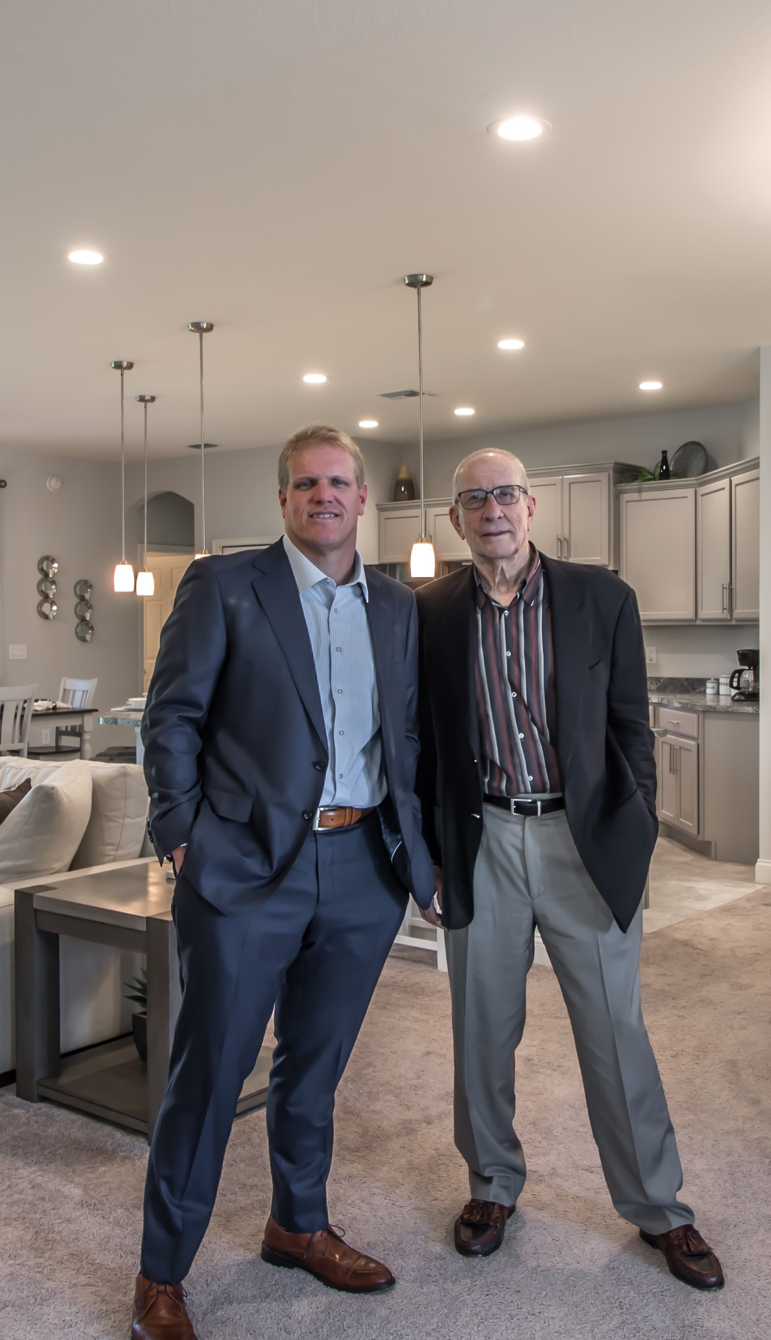 Highland Homes was founded in 1996 by father Bob Adams, and son, Joel Adams.