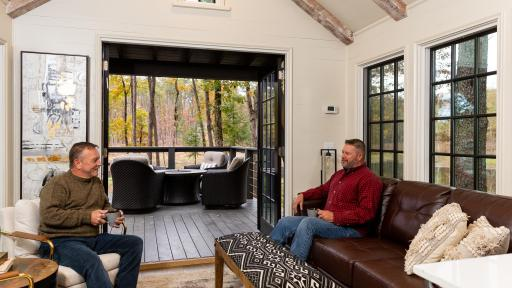 Tiny home community residents can enjoy the privacy of their cozy Designer Cottages while enjoying the outdoors and surrounding beauty just as much.