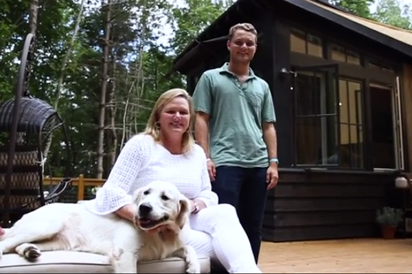Designer Cottages® homeowner shares her tiny living experience.