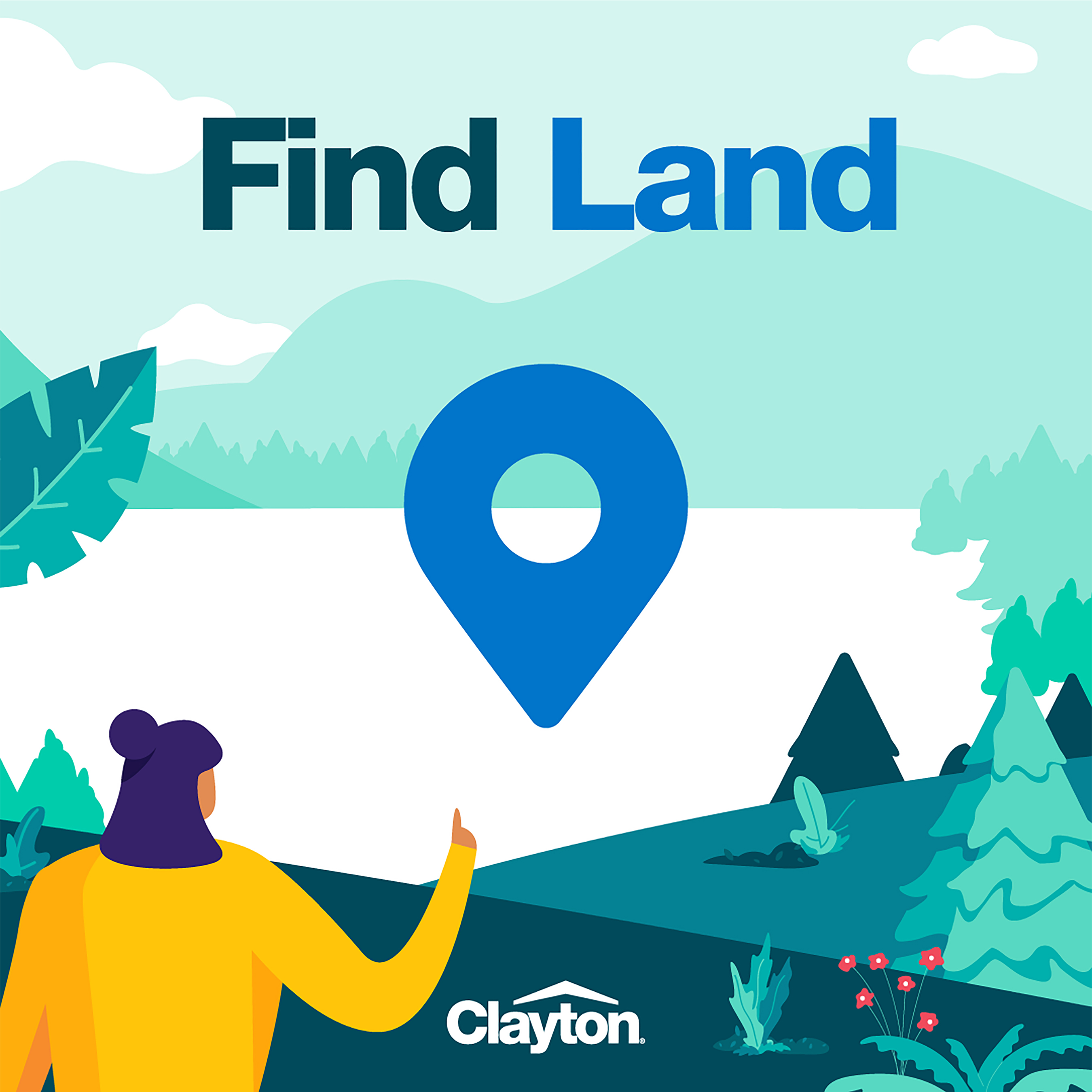 Find Land allows users to view land listing details and connect with real estate agents.