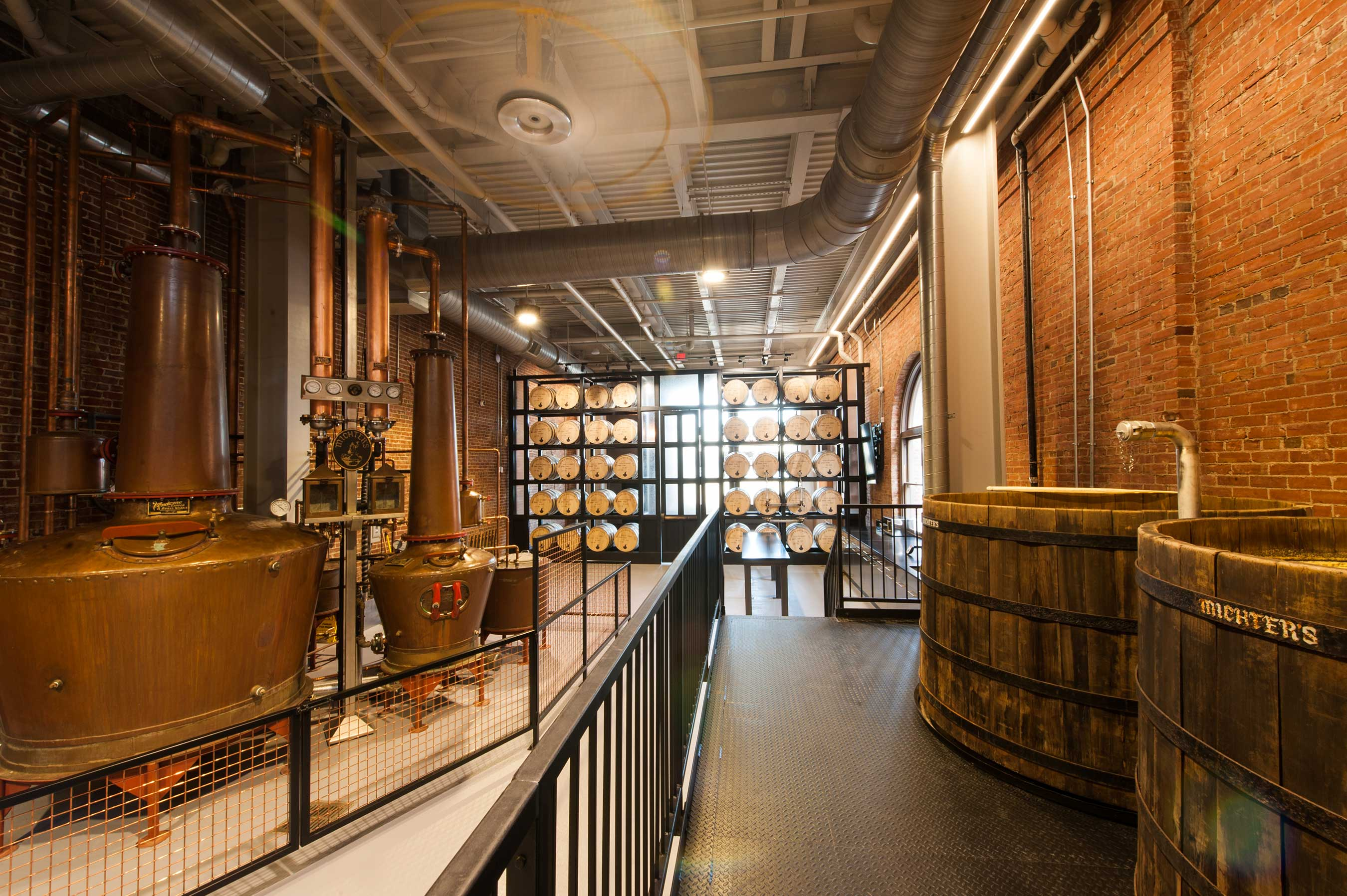 Michter's Fort Nelson Distillery and Cypress Wood Fermenters
