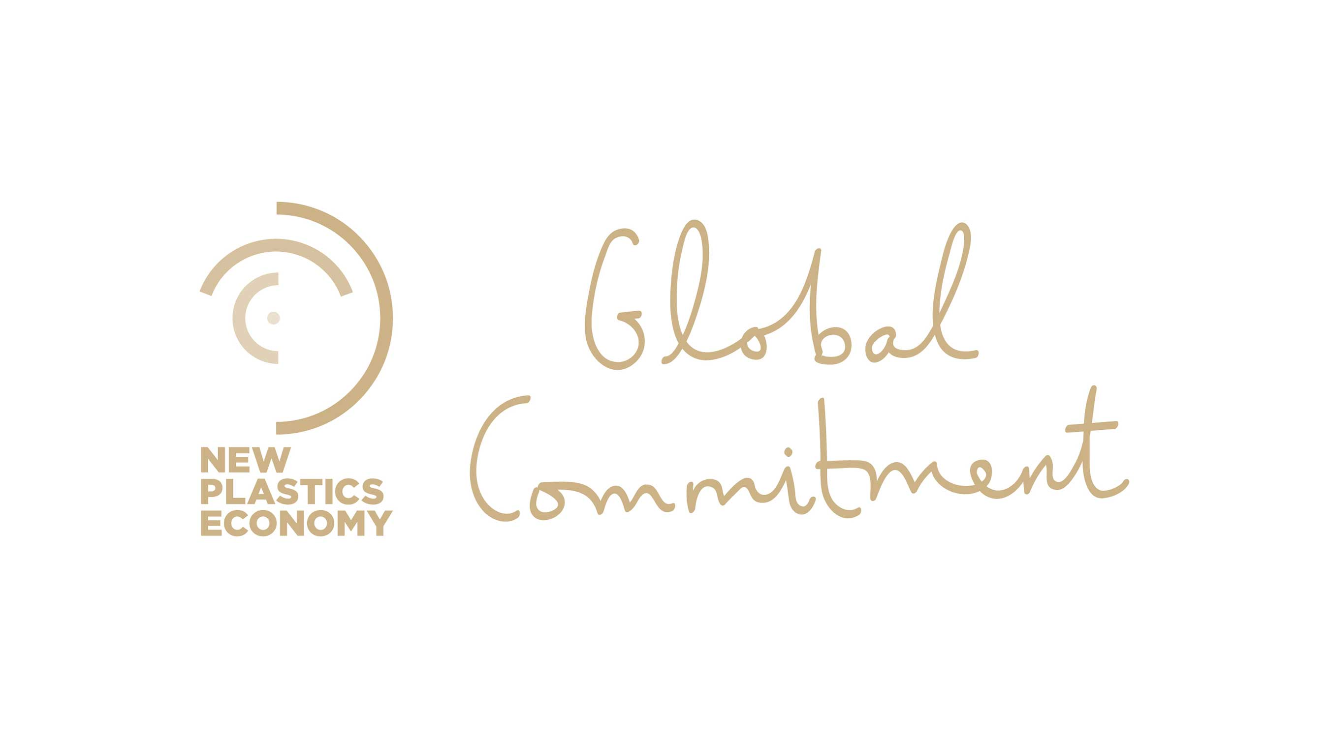 The Ellen MacArthur Foundation's New Plastics Economy Commitment Logo.