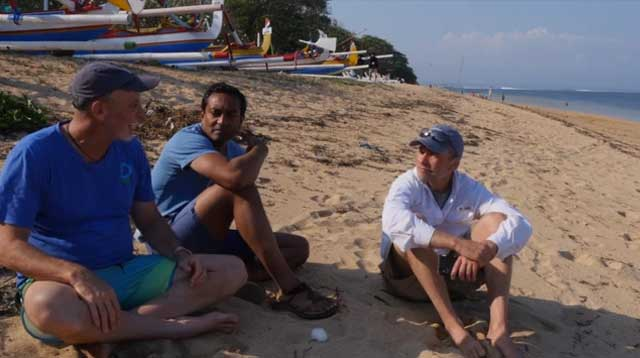 Conservation International and SC Johnson visit Indonesia to talk ocean health.