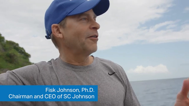 Fisk Johnson shares perspectives on ocean plastics and conservation.