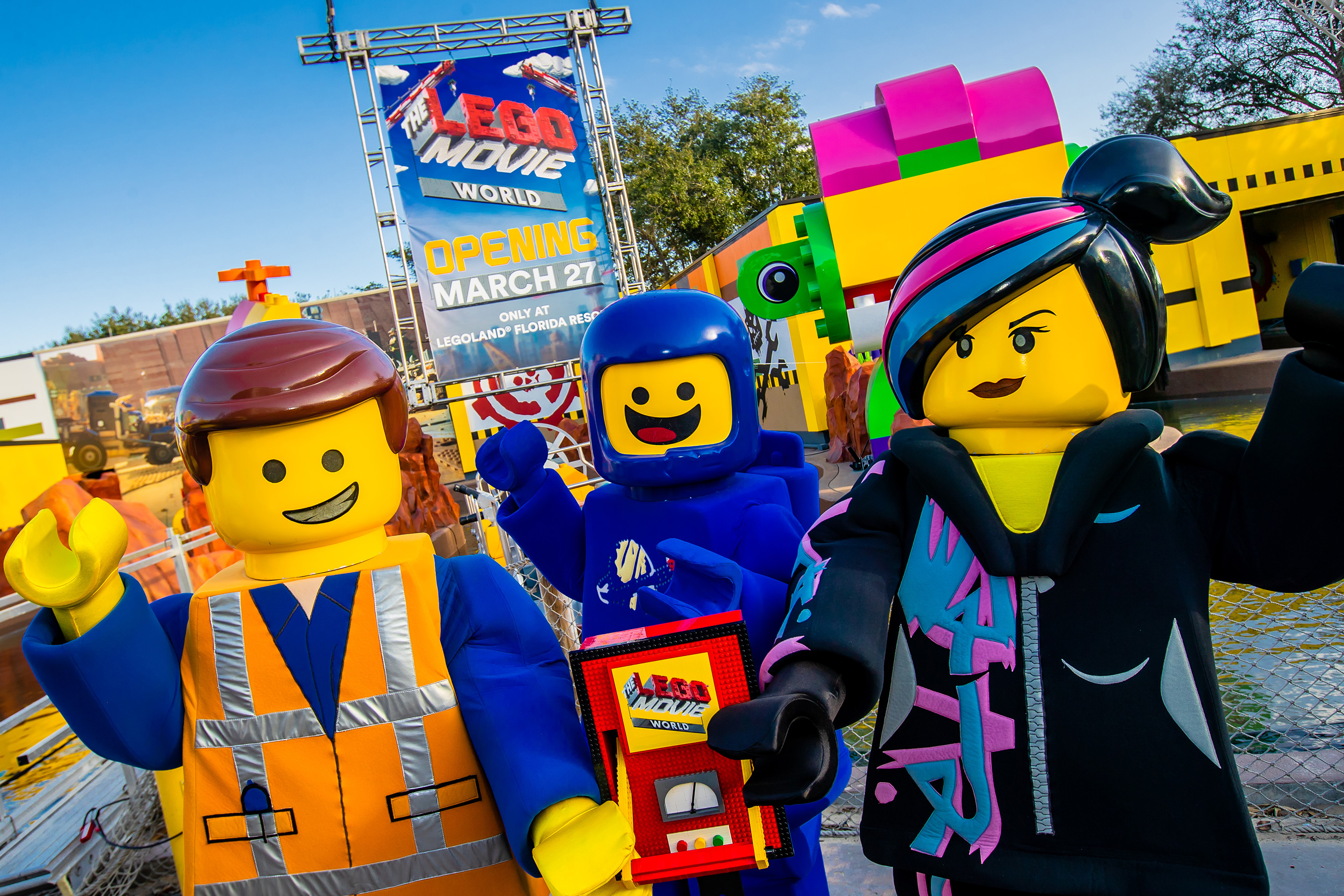 THE LEGO® MOVIE™ WORLD opening March 27, 2019 only at LEGOLAND® Florida Resort