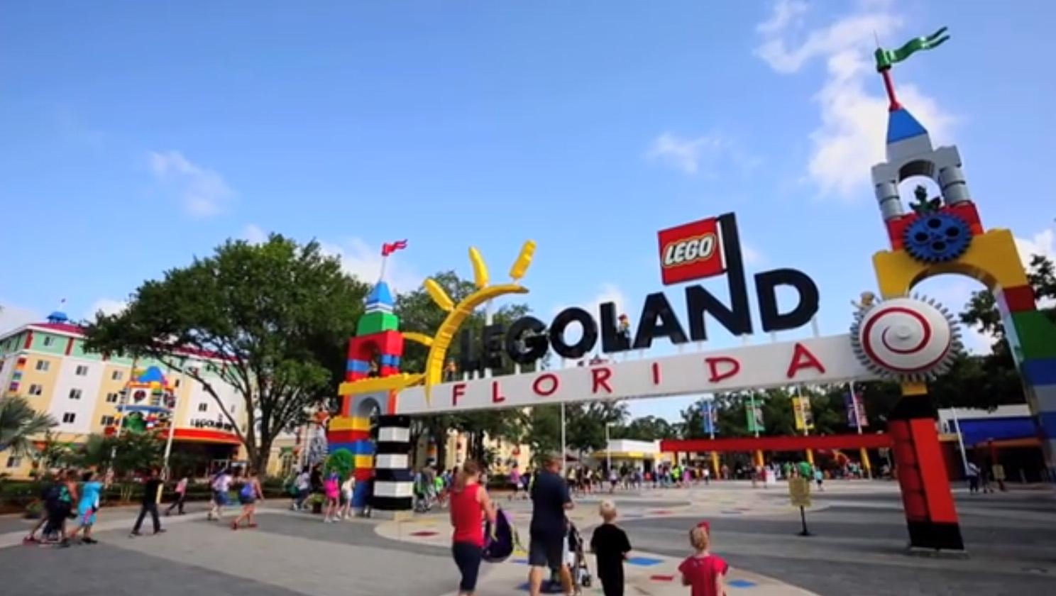 LEGOLAND Florida Resort Theme Park B-roll