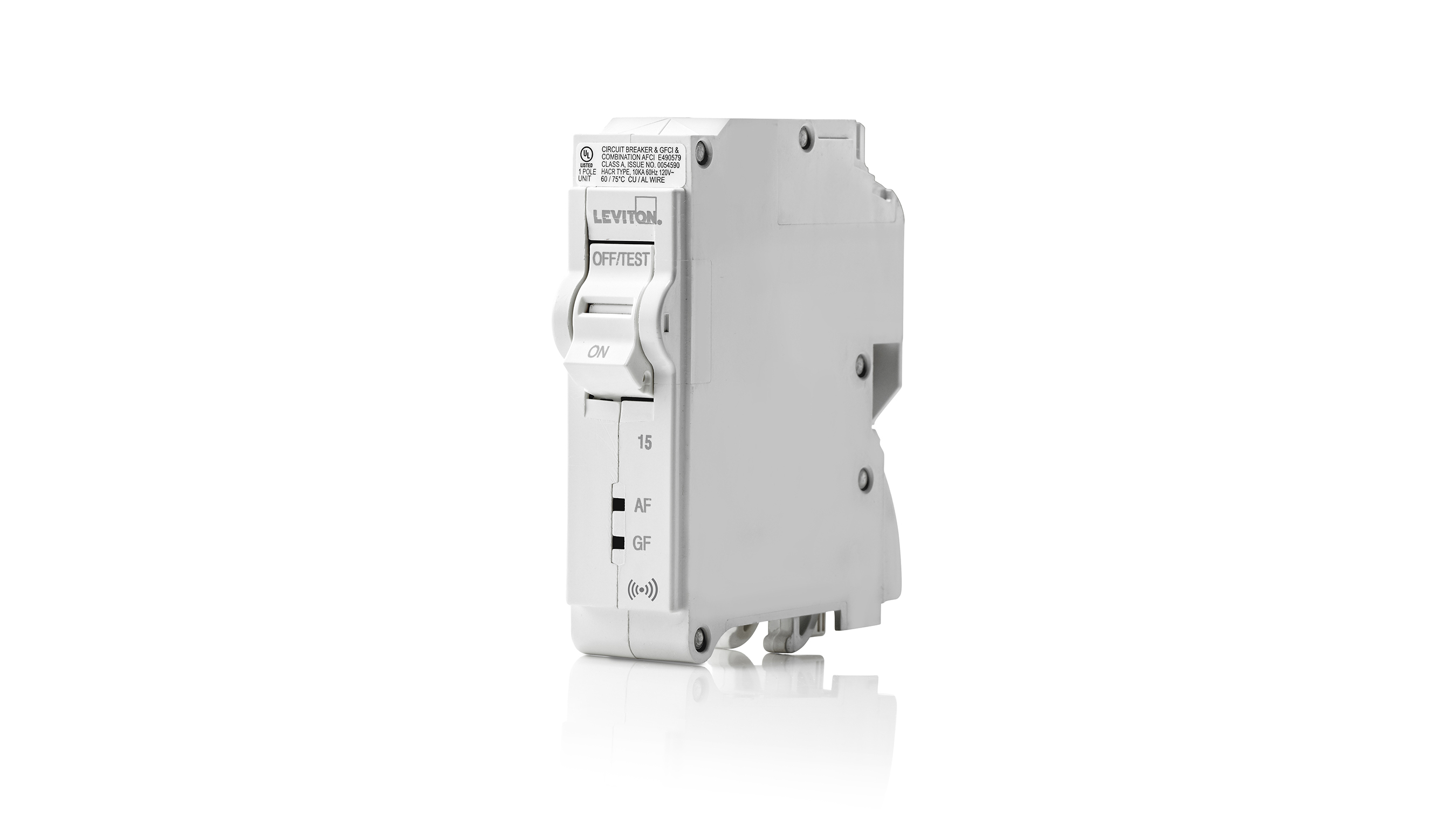 In addition to being the industry's first all plug-on load center with no more pig tails and a simpler installation process for builders and contractors, the new Leviton Load Center has the only circuit breakers with patented GFCI lockout technology that exceeds existing UL safety standards. No other circuit breaker provides this level of protection.