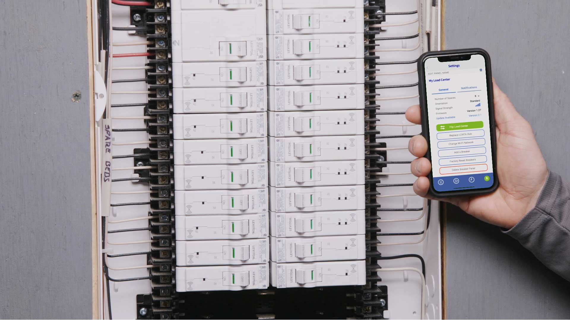 leviton launches next generation, internet connected load center