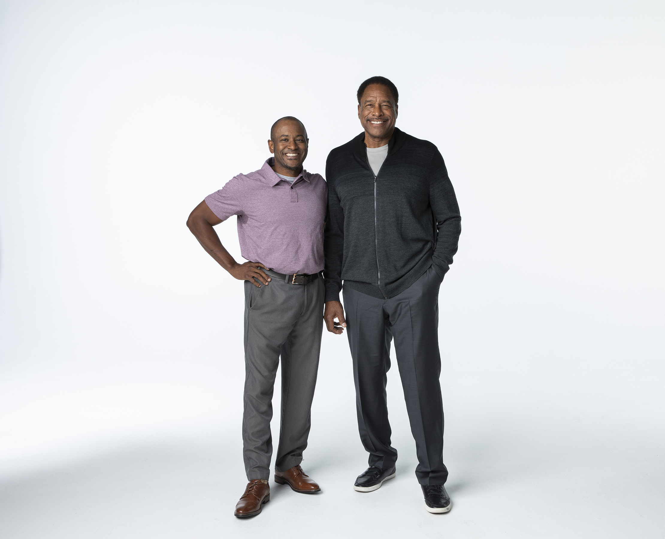 Don Baylor Jr. and Dave Winfield