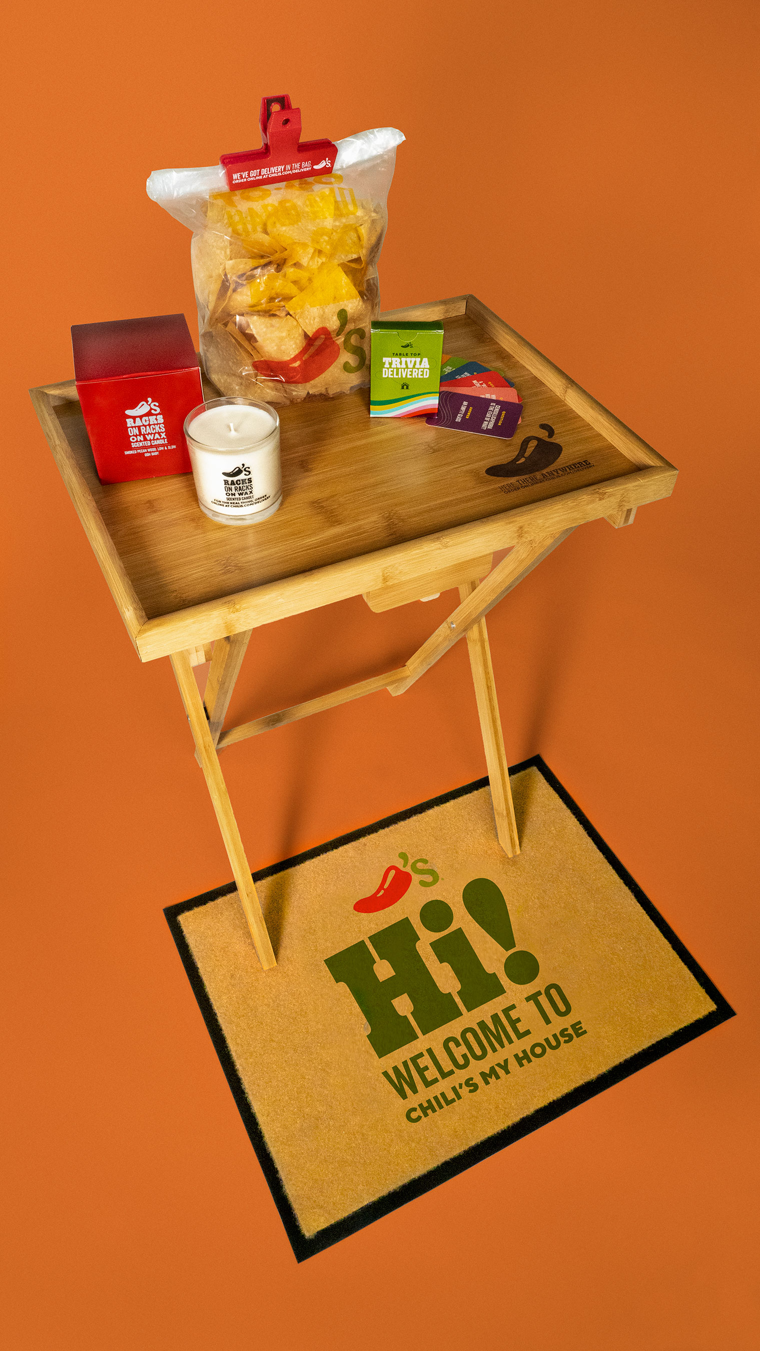 Order Chili's delivery for your chance to get your hands on one of these custom starter packs!