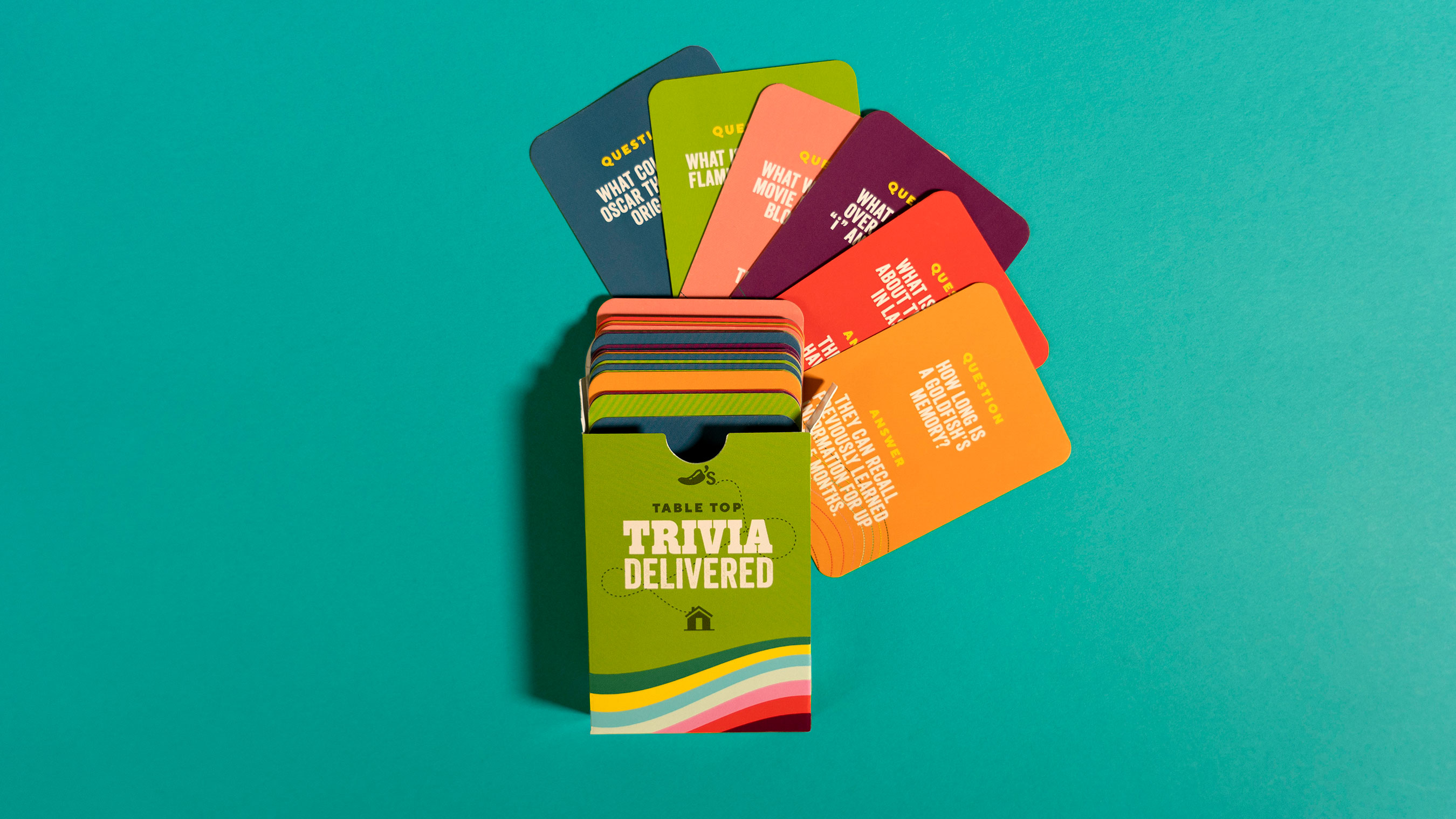 You can take the magic of useless knowledge with you anywhere and everywhere with these pocket-size trivia cards. Your relationships are sure to improve thanks to this game.