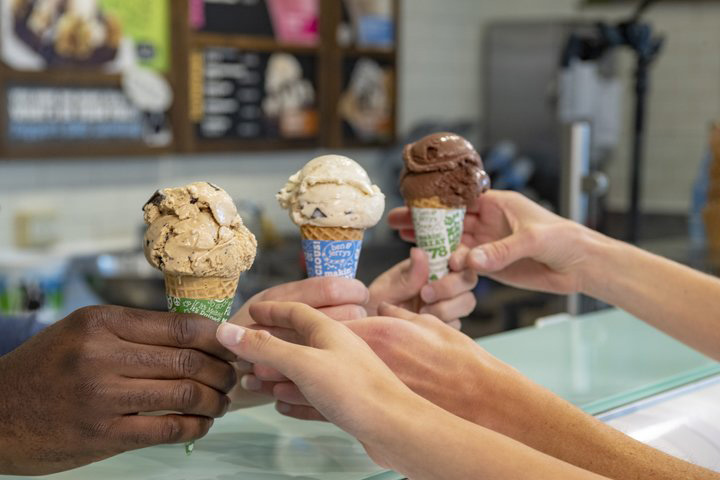 Free Cone Day is Ben & Jerry's way of thanking its fans. Scoop Shops will give away cones and cups on April 9.