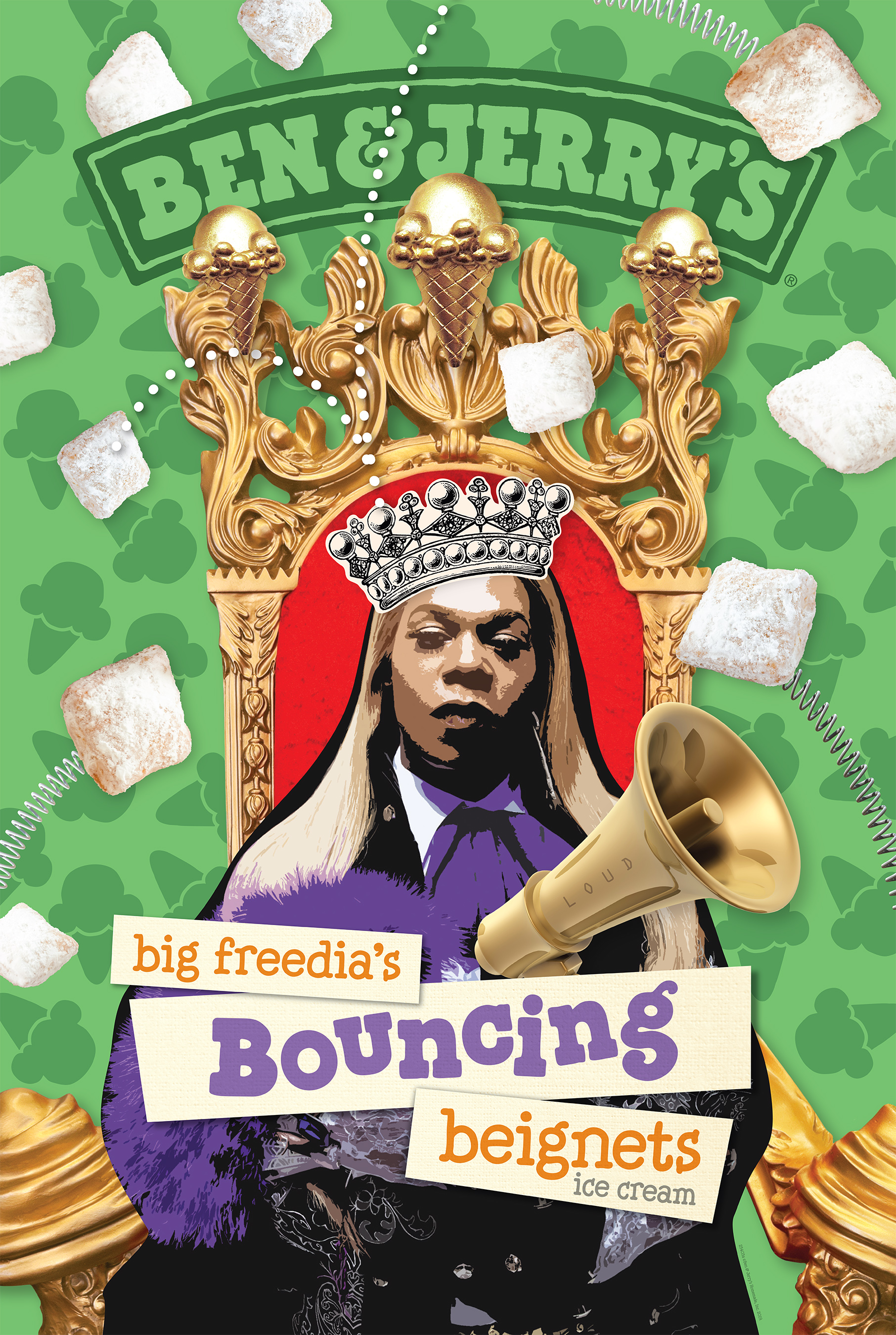Ben & Jerry's and Big Freedia team up to launch new partnership, benefiting New Orleans based Non-Profits