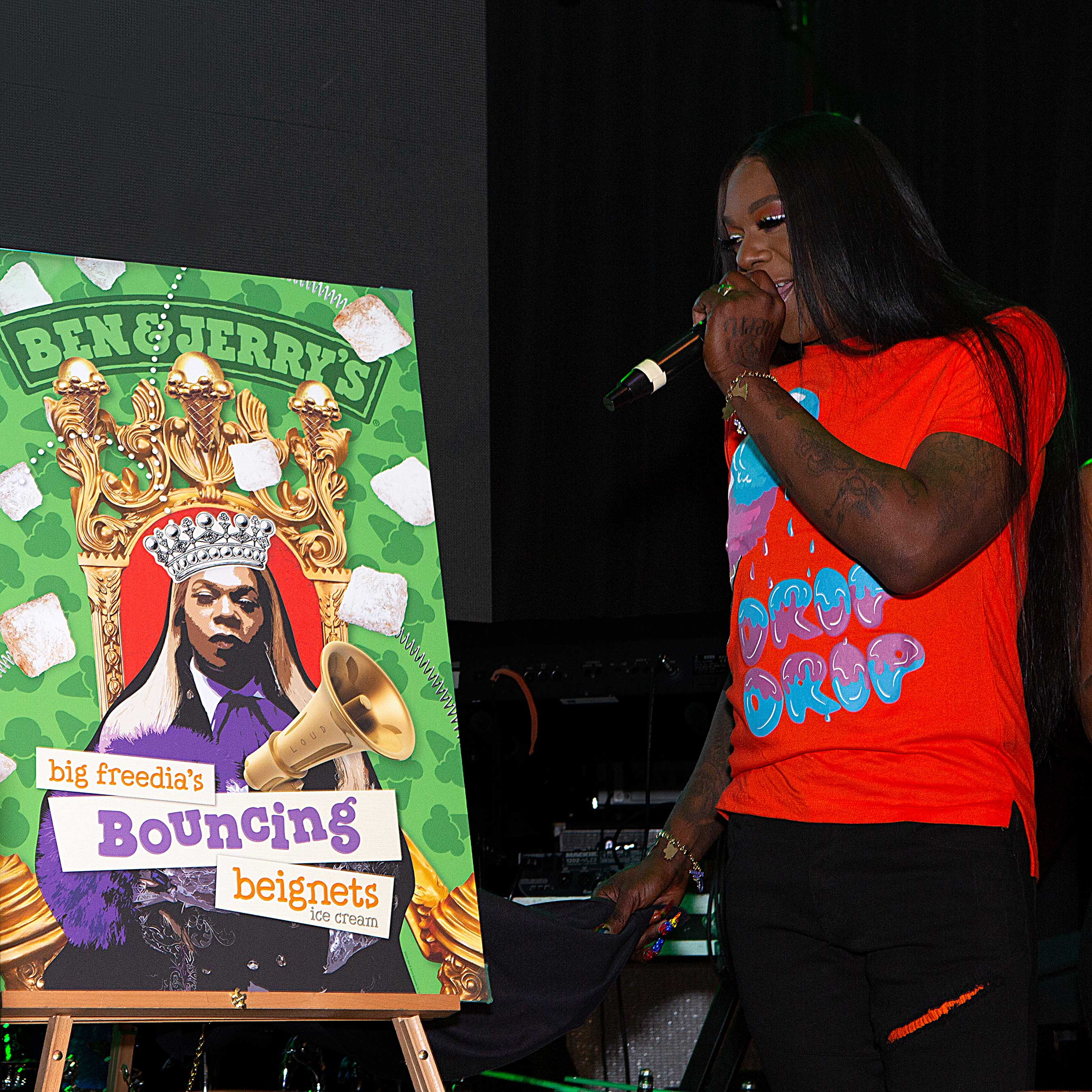 You already know! Today we teamed up with Big Freedia to dish out Bouncing Beignets for a limited time in #NOLA