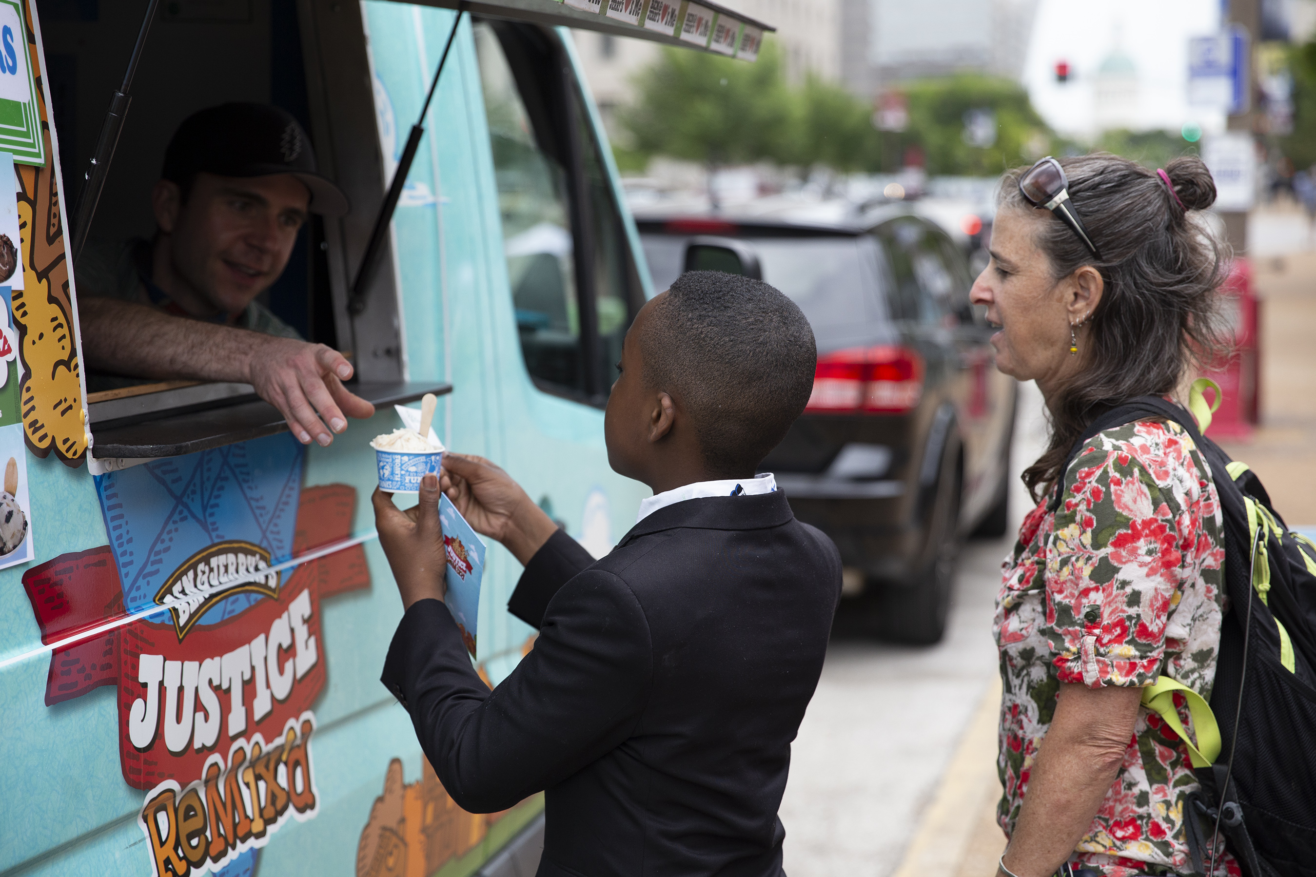 Ben & Jerry's uses its Scoop Truck to engage people around criminal justice issues. It's one of several ways the company uses its resources to support social movements.