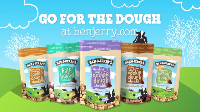 D'ough! Ben & Jerry's New Snackable Chunks Arrive Without the Ice Cream