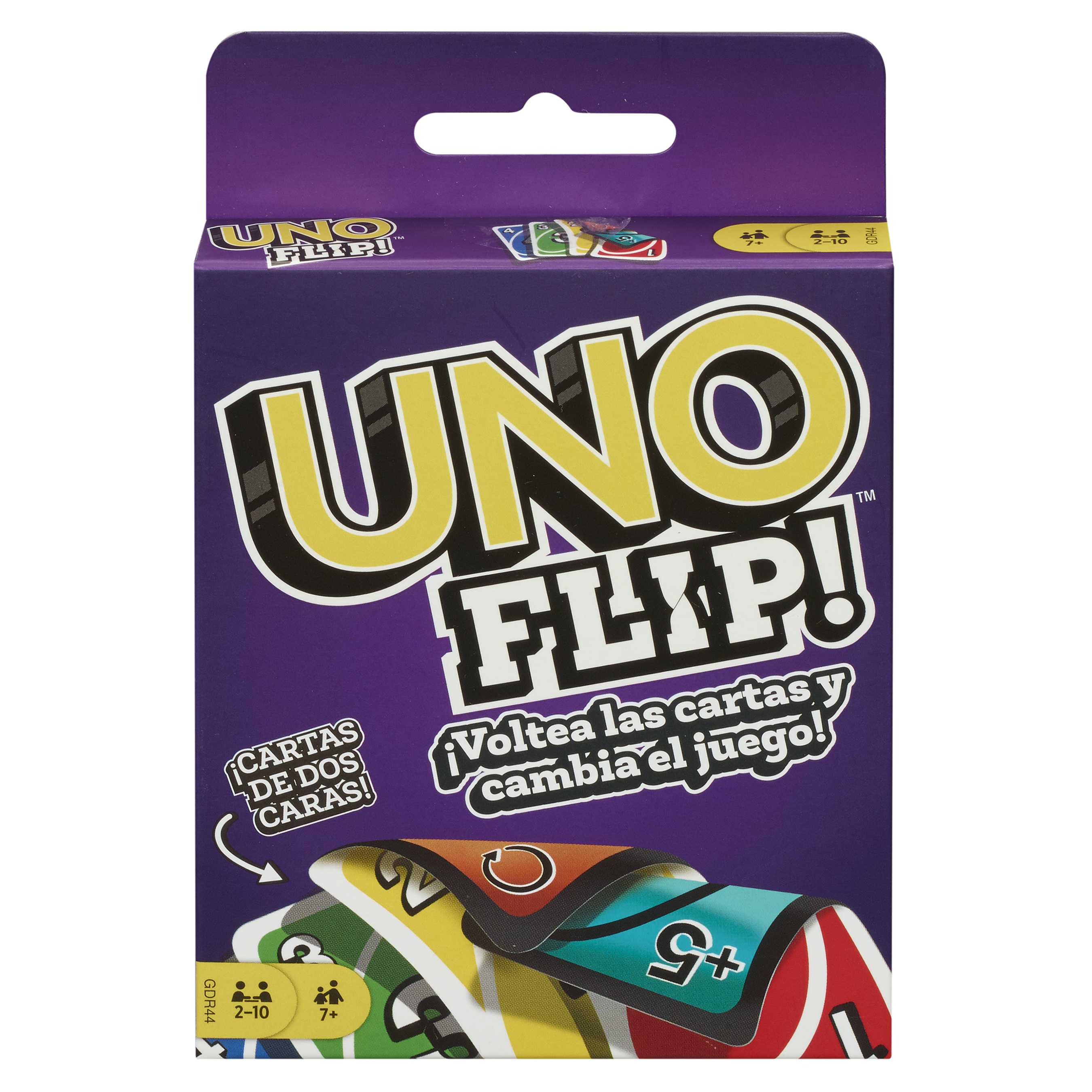 UNO FLIP! Packaging