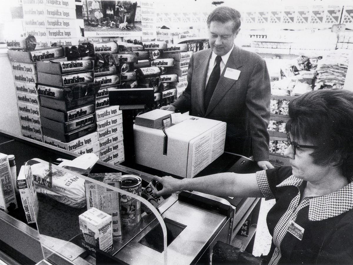 1970s Checkout