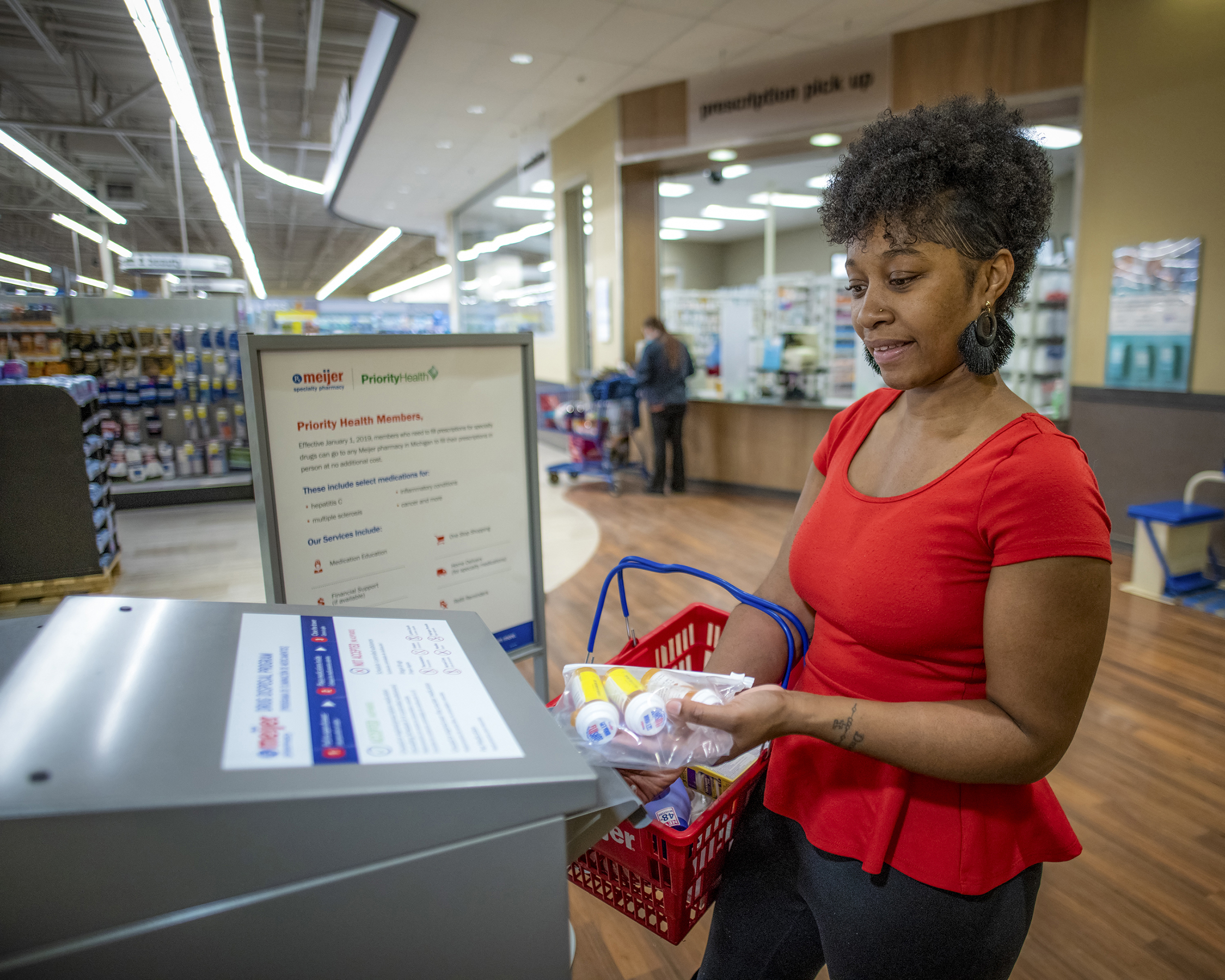 The Meijer Consumer Drug Take-Back Program supports a growing community need to have access to a safe method for disposing unused medications.