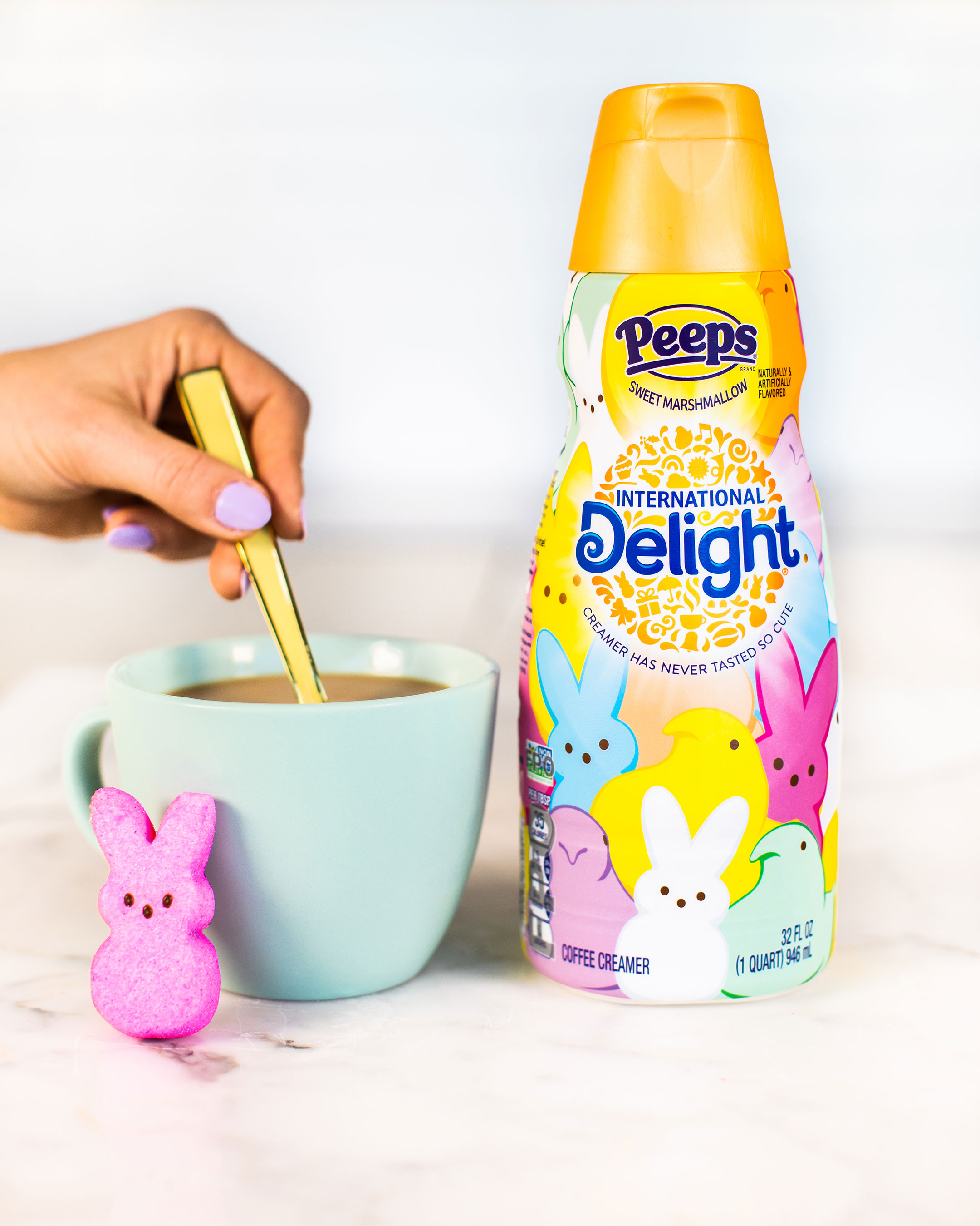 International Delight PEEPS® Flavored Creamer available for a limited time