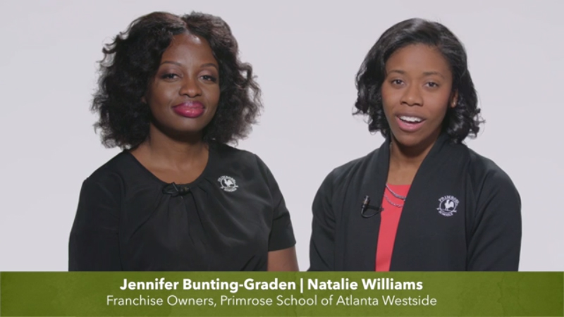 By opening Primrose School of Atlanta Westside, Jennifer Bunting-Graden and Natalie Williams bring experience and passion for the Primrose mission to create a life-changing experience at their school.