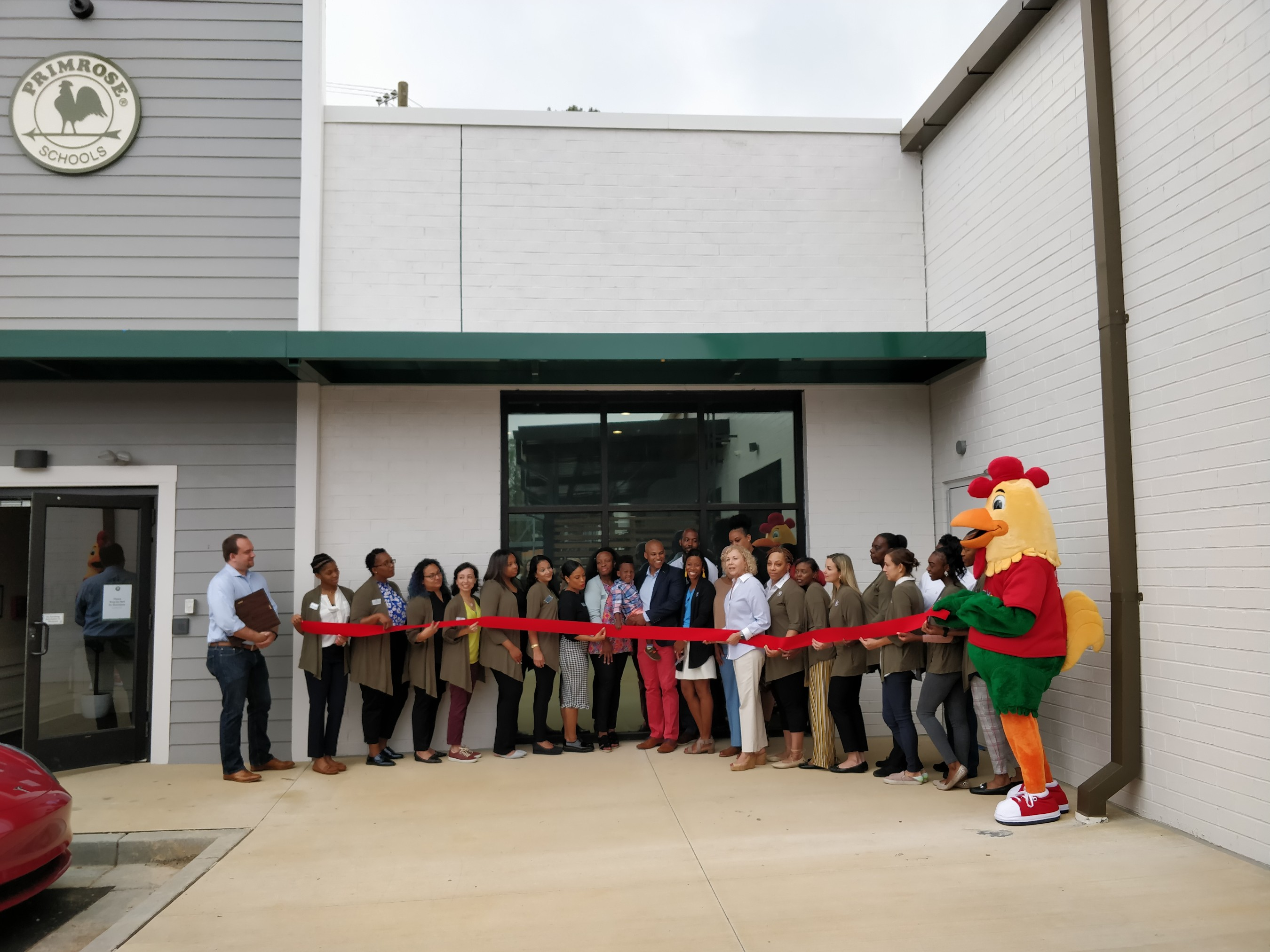 Primrose's 400th school ribbon cutting