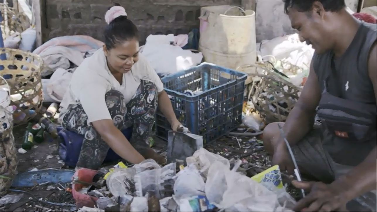 SC Johnson and Plastic Bank are opening collection centers in Indonesia to help create recycling infrastructures.