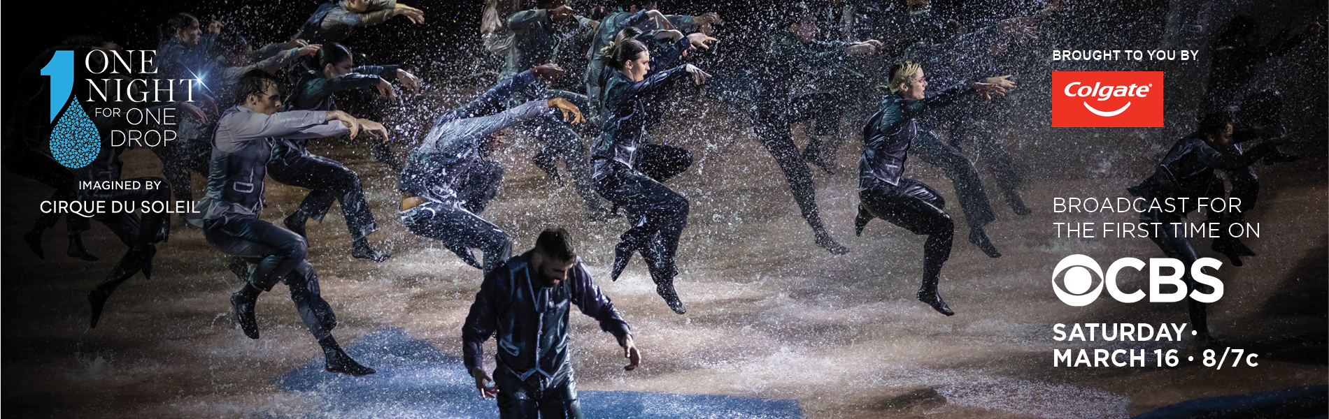 Dancers dancing on a stage with 4 inches of water.