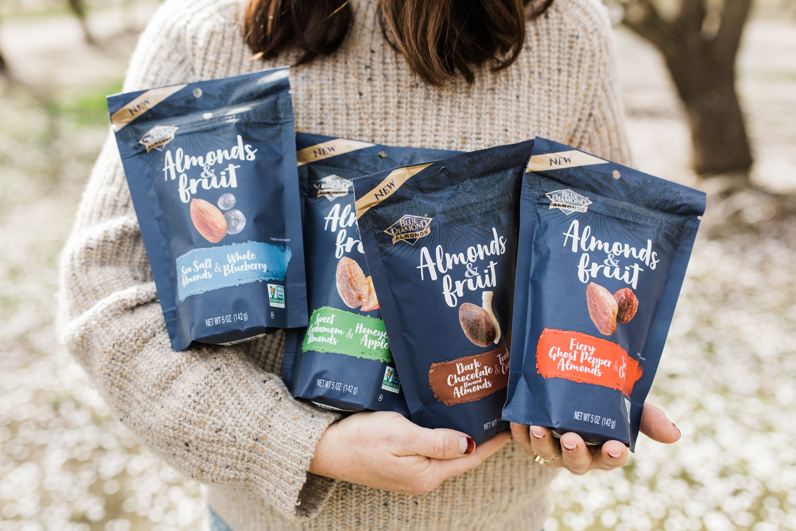 Almonds & Fruit follows closely on the launch of the brand's Crafted line. With Blue Diamond's line of gourmet snacks in hand, customers can effortlessly elevate snack time day in and day out.
