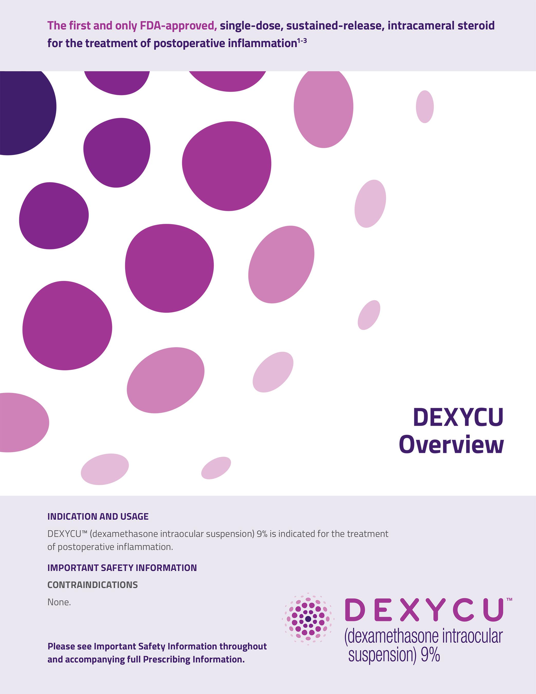 DEXYCU Overview