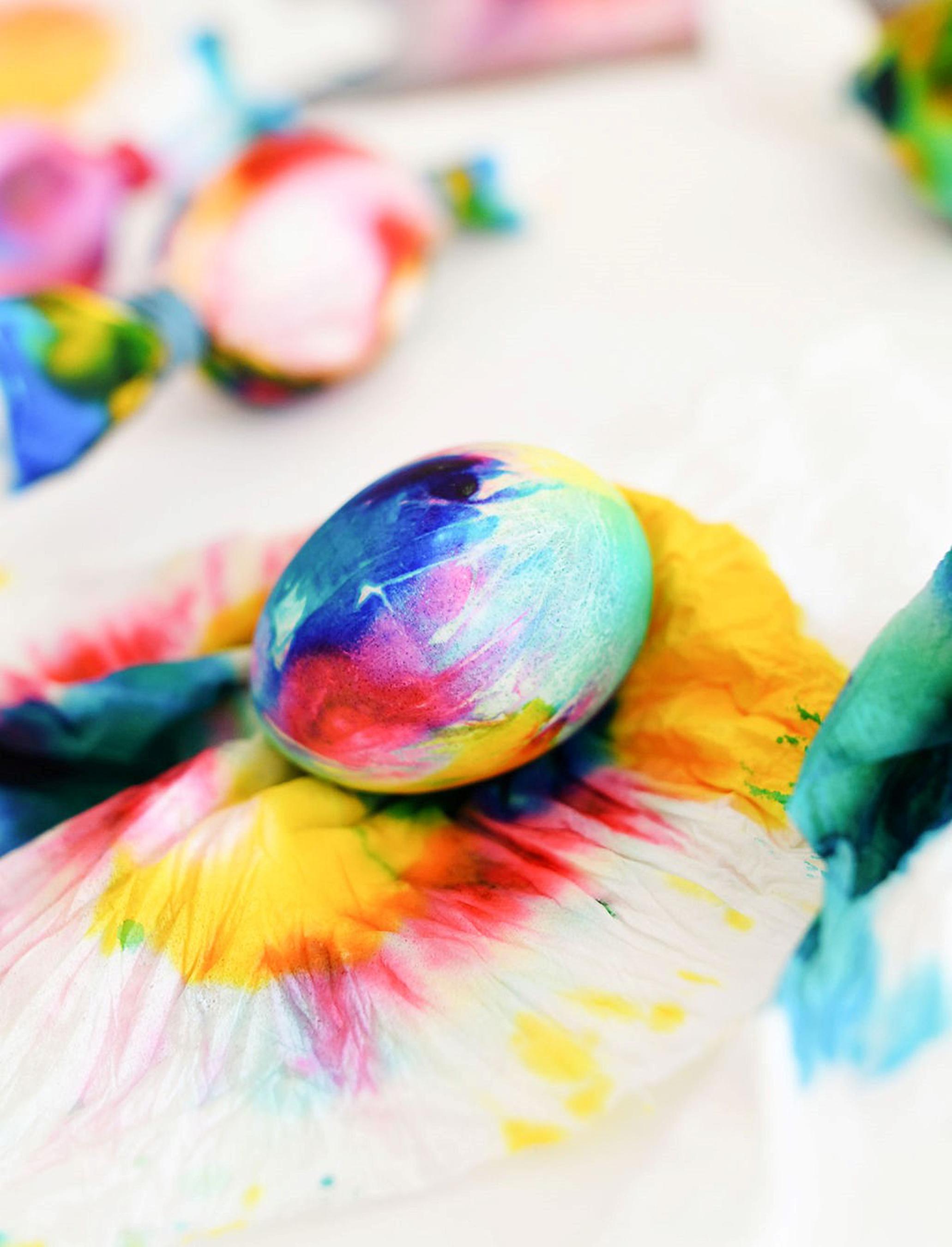 Tie-Dye Egg