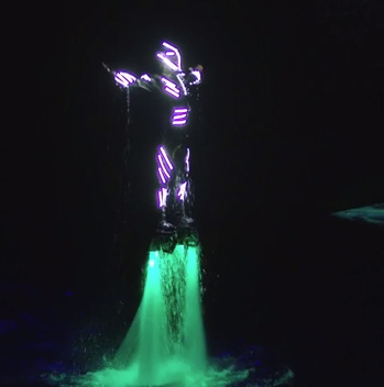 Fly Board Act During One Night for One Drop 2019