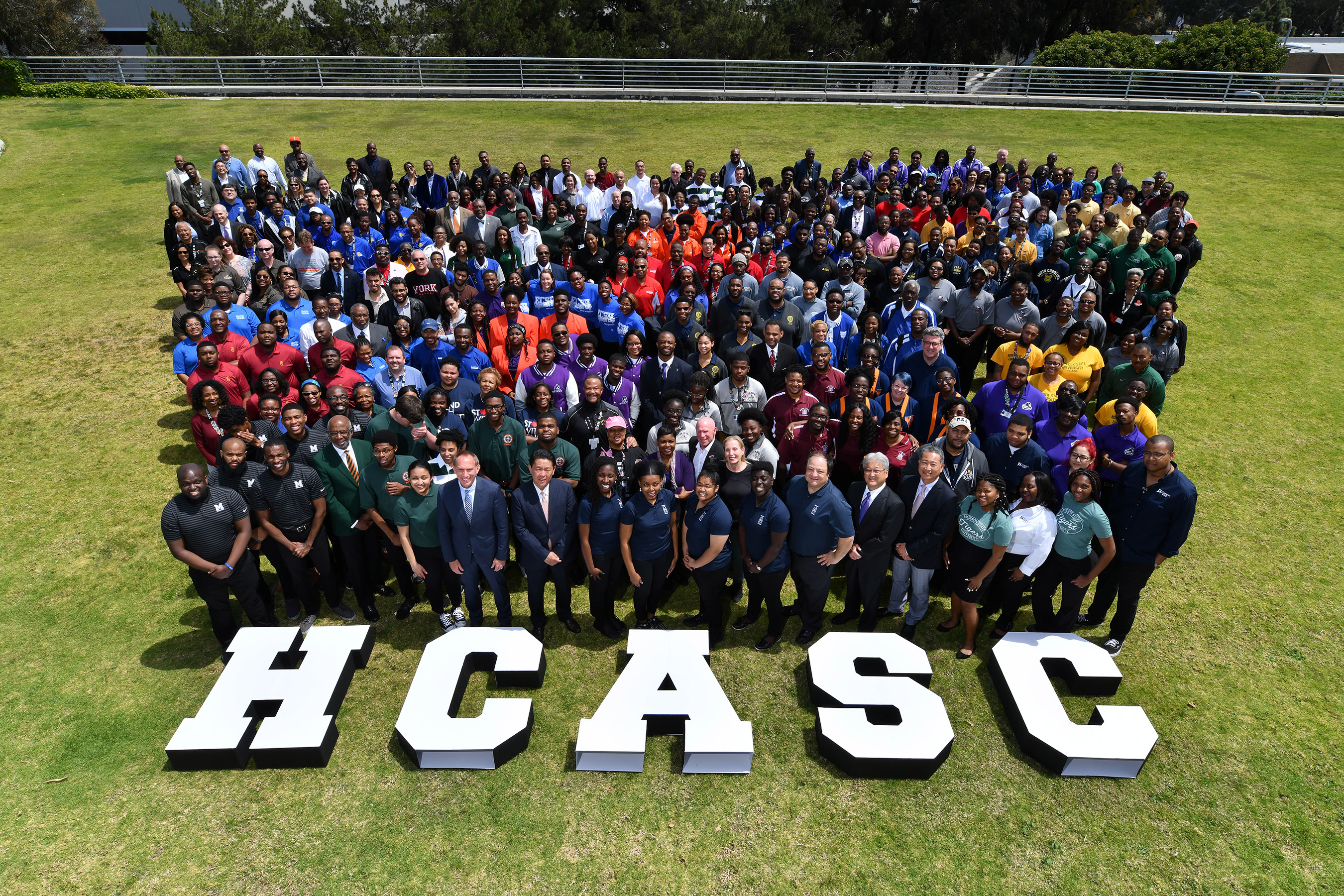 More than 300 HBCU students, presidents and institutional representatives participated in and attended the 2019 Honda Campus All-Star Challenge National Championship Tournament in Los Angeles.