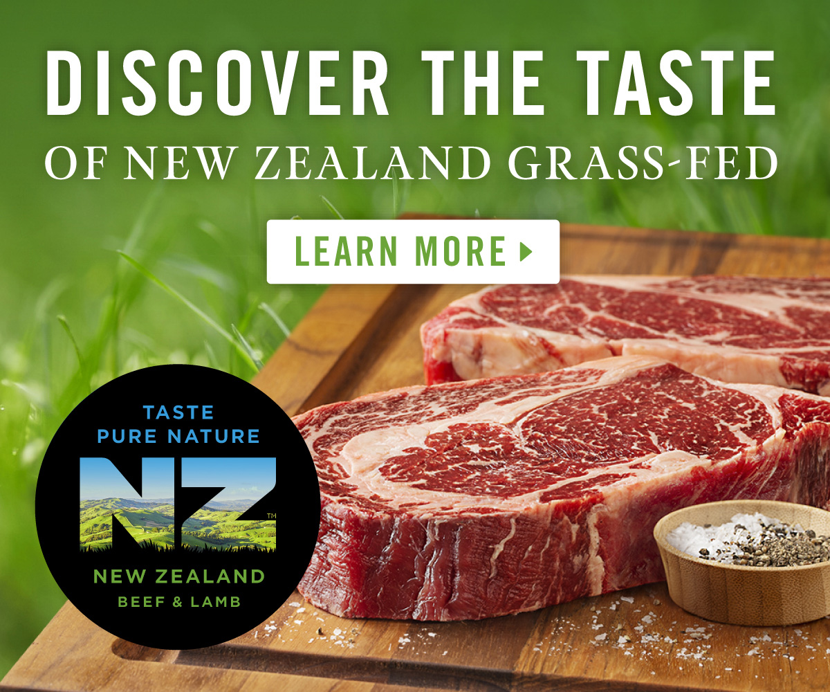 An integrated marketing campaign from Beef + Lamb New Zealand will help drive California consumer preference for grass-fed meat from New Zealand, under the Taste Pure Nature origin brand.
