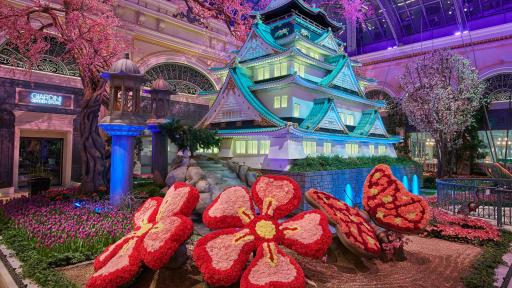 Image of the Bellagio Conservatory - Spring 2019