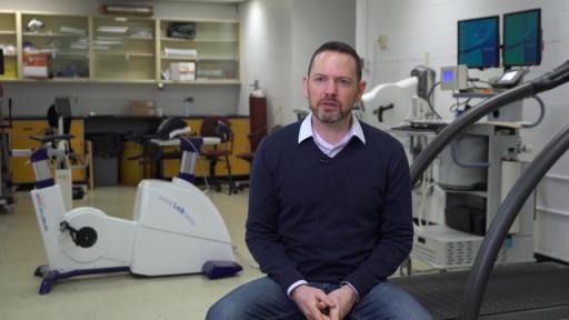 Dr. Jonathan Tremblay, associate professor at the University of Montreal, School of Kinesiology and Exercise Science.