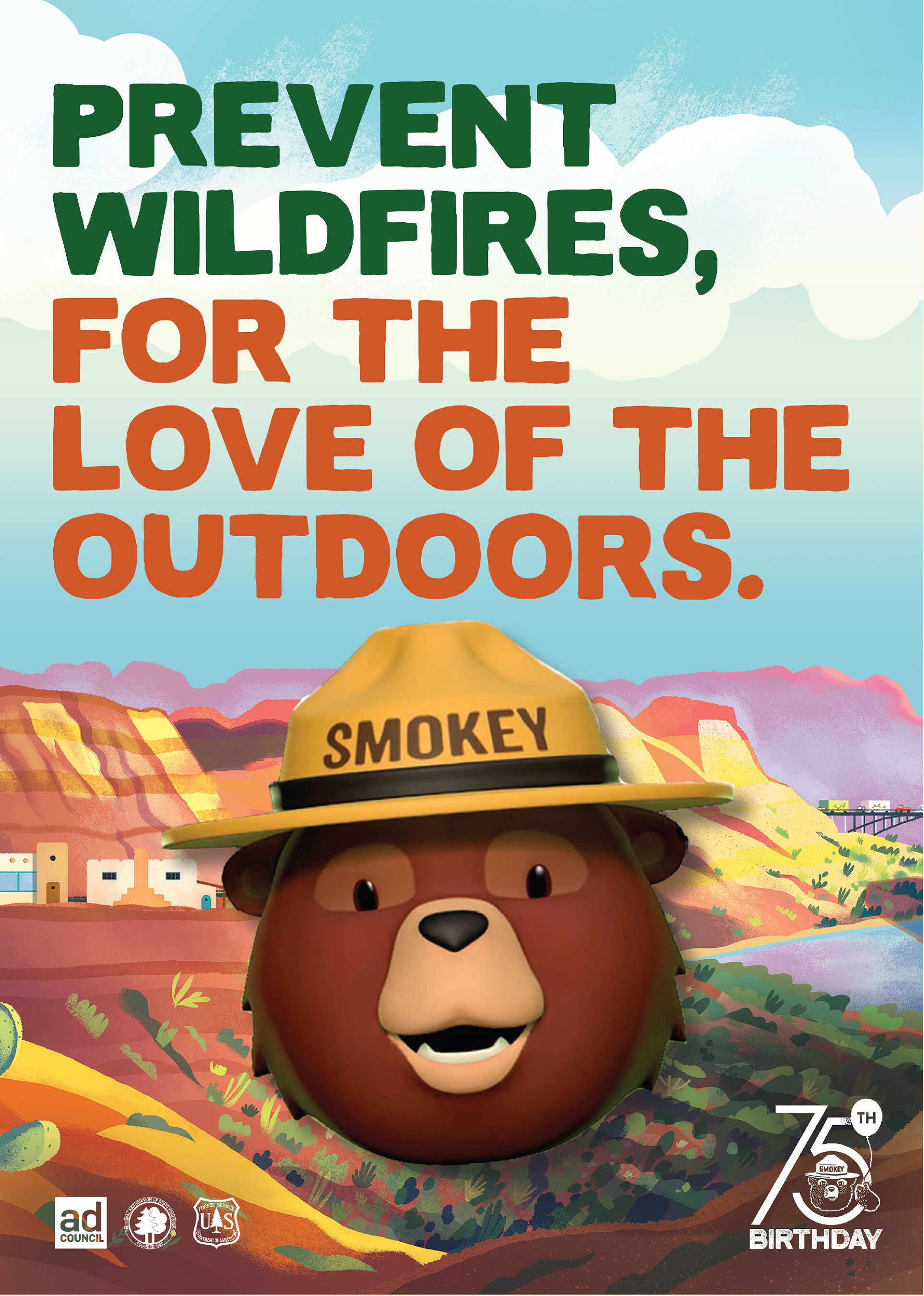 Smokey Bear   For the Love of the Outdoors