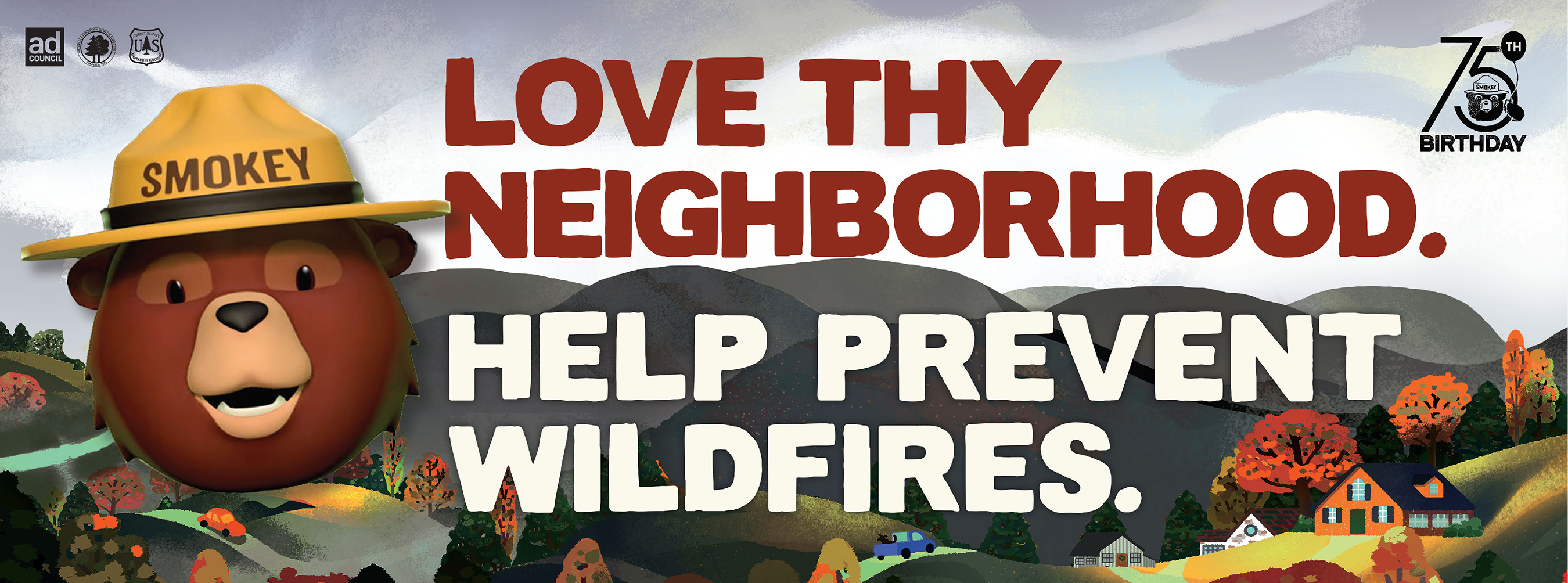 Smokey Bear   Love Thy Neighborhood