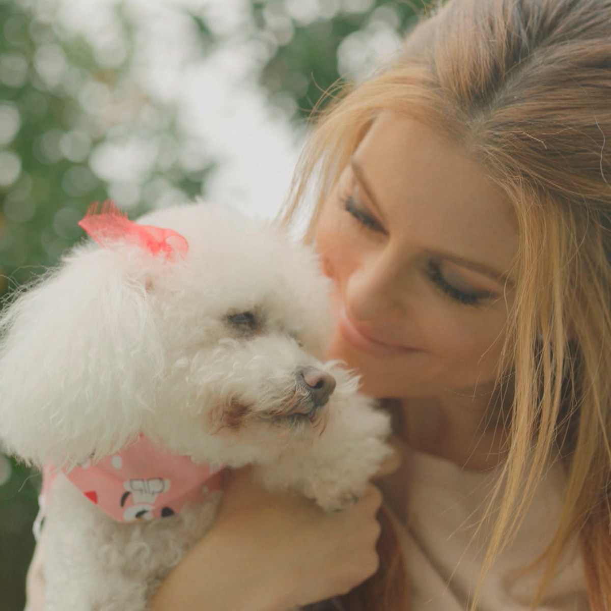 """My dogs are the true stars of our family. They have different personalities, but provide us with their own wonderful versions of warmth and affection,"" said award-winning journalist Maria Menounos."