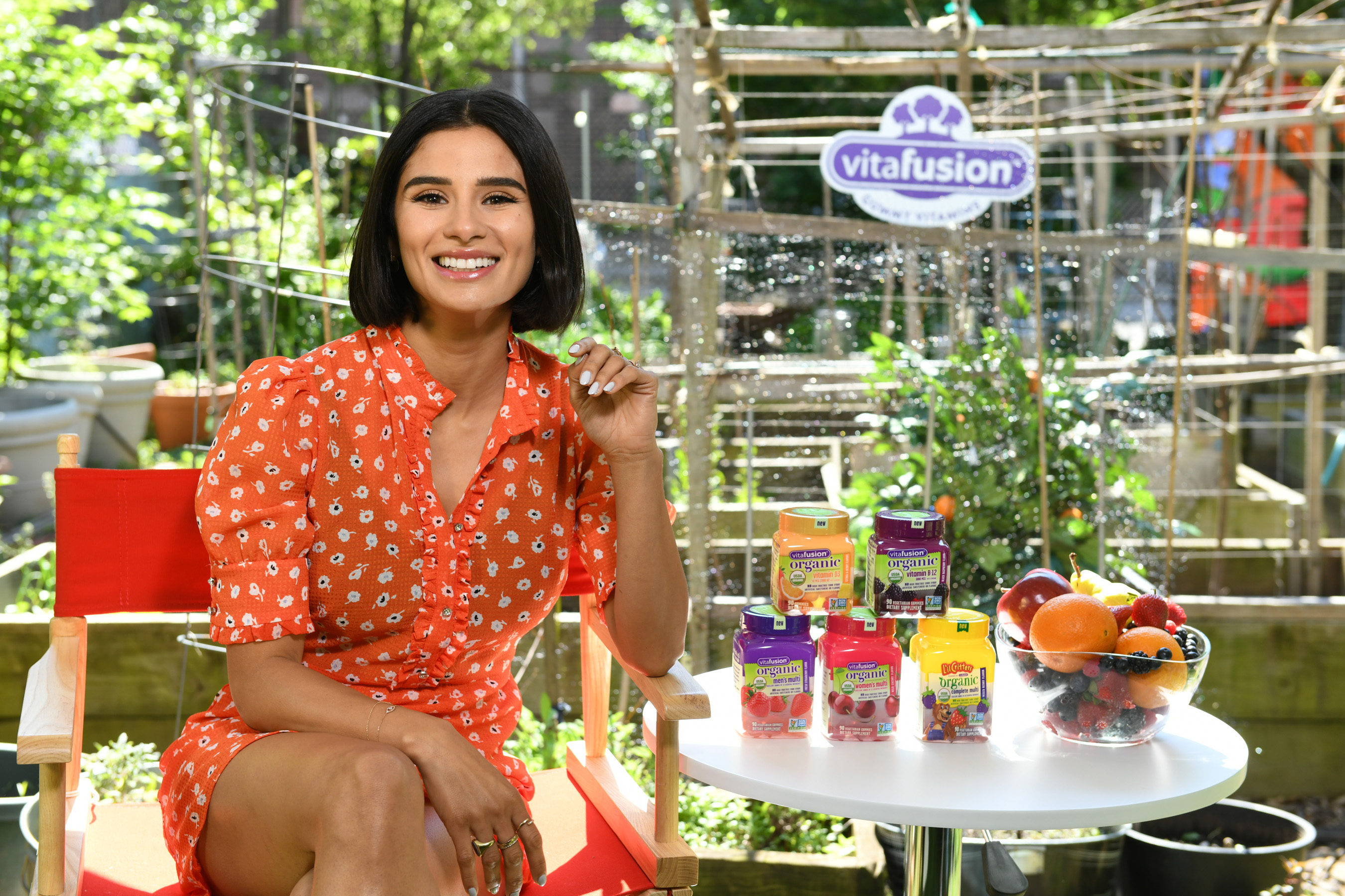 Actress Diane Guerrero Joins vitafusion™ and The Fruit Tree Planting Foundation's Commitment to Planting 200,000 Fruit Trees By 2020