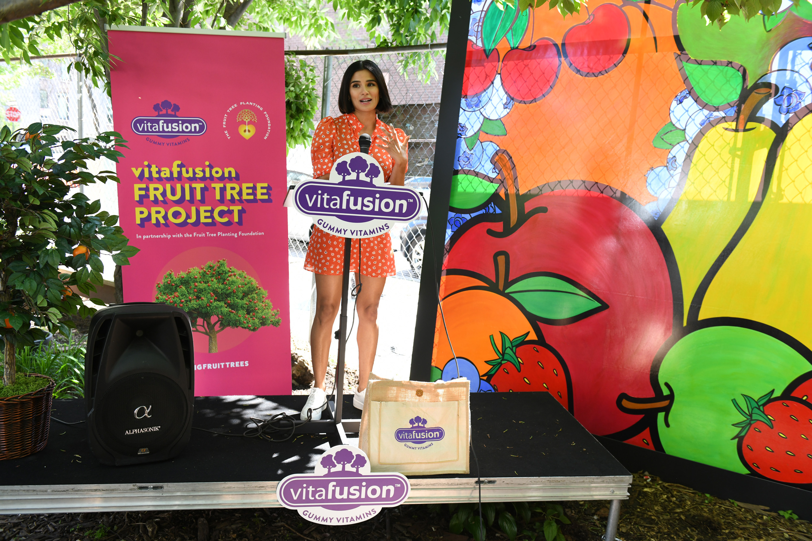 Diane Guerrero discusses why advocating for good, fruitful nutrition is one of her top priorities.