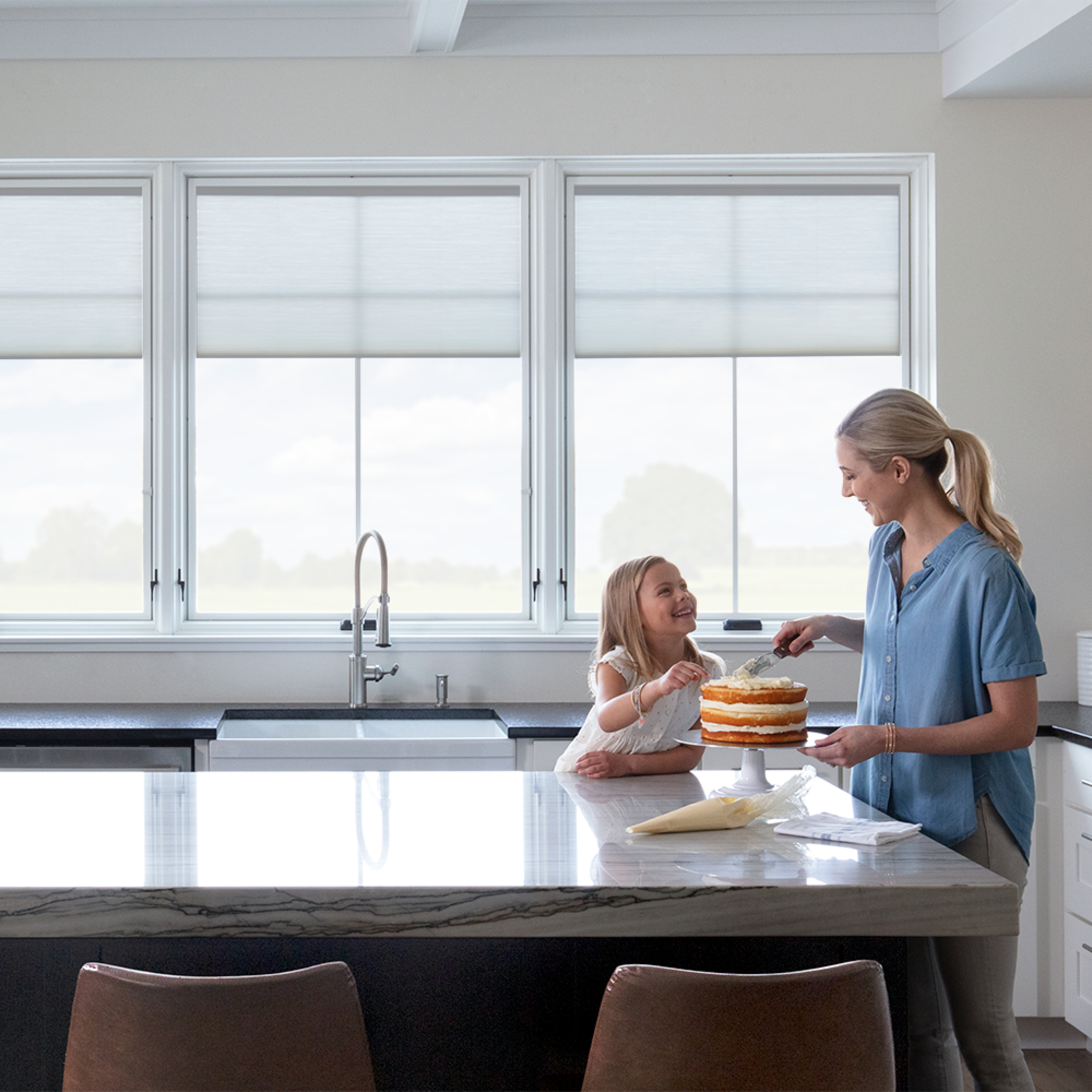 Pella Lifestyle Series wood products help homeowners achieve their design vision.