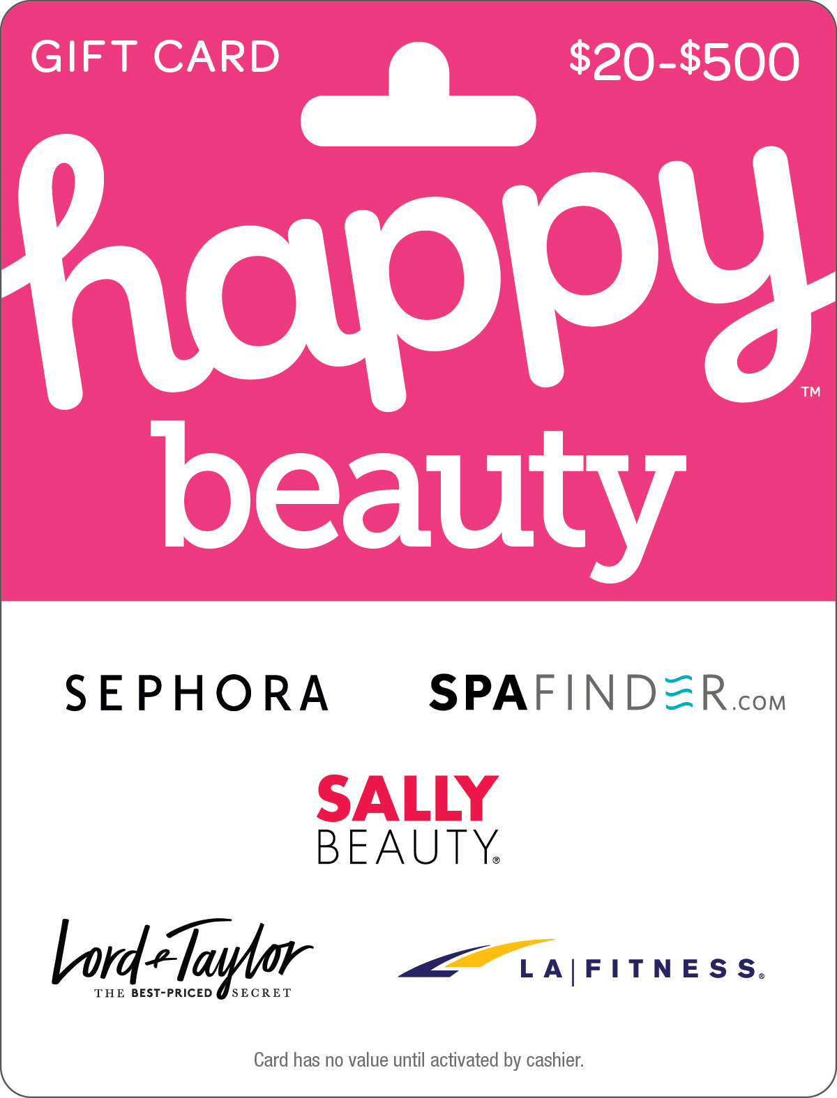 HAPPY BEAUTY Gift Cards