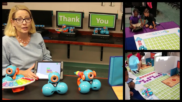 Calusa Park Elementary School in Naples, Florida used their CenturyLink Teachers and Technology grant to purchase small, programmable robots along with iPads for students to program them.